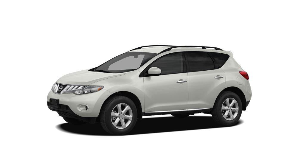 2009 Nissan Murano LE Miles 107439Color Glacier Pearl Stock K14267A VIN JN8AZ18W99W153077