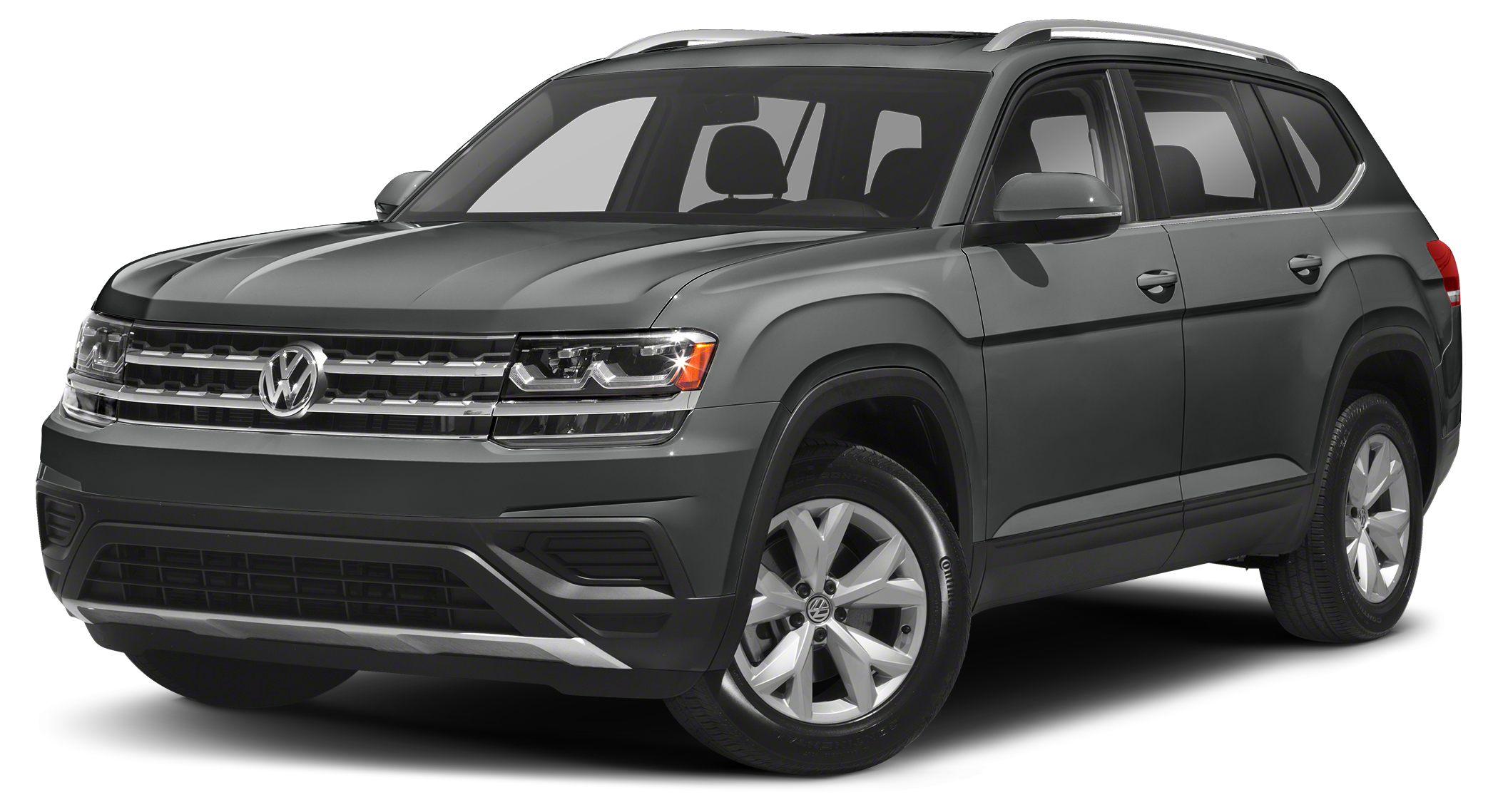 2018 Volkswagen Atlas 36 SEL Premium Great MPG 23 MPG Hwy All Wheel Drive New Inventory S