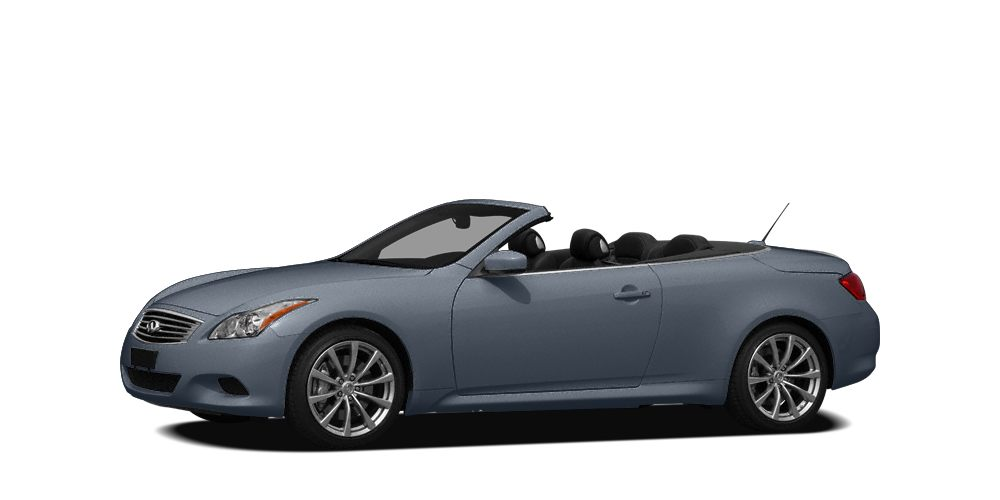 2009 Infiniti G37 Base Excellent Condition Base trim Heated Leather Seats Convertible Hardtop