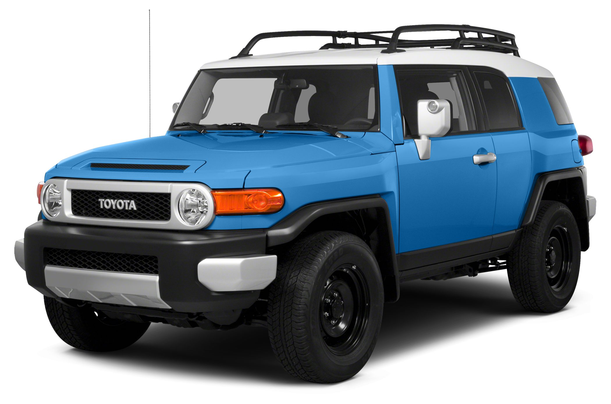 2014 Toyota FJ Cruiser Base CARFAX 1-Owner Extra Clean Heritage Blue exterior and Dark Charcoal