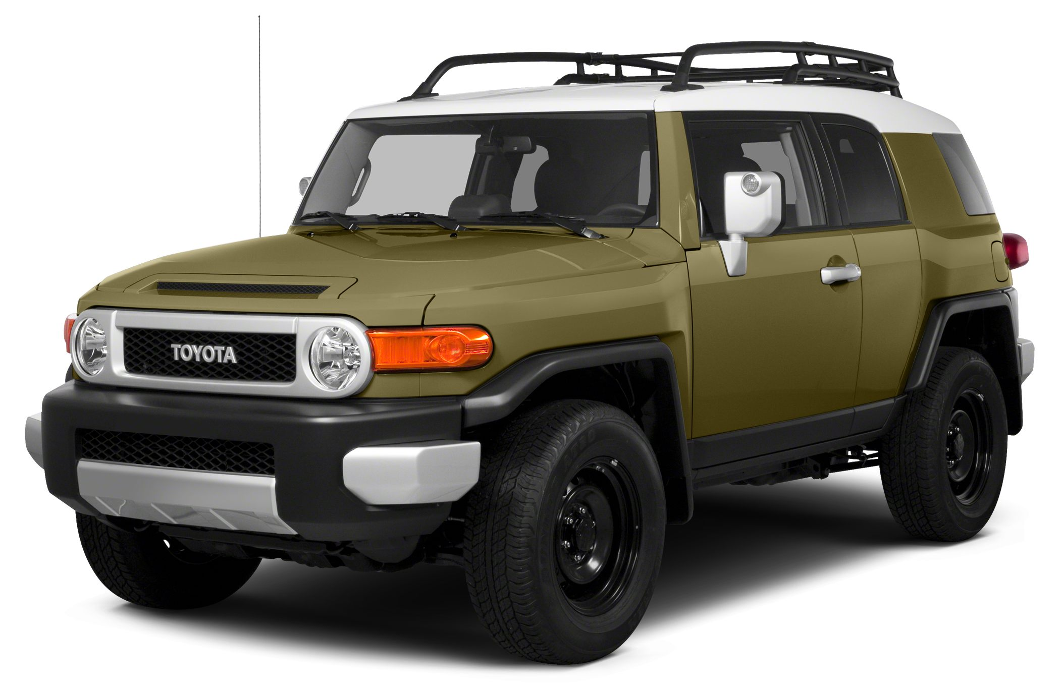 2014 Toyota FJ Cruiser Base Miles 37335Color Brown Stock 360500 VIN JTEBU4BF3EK191927