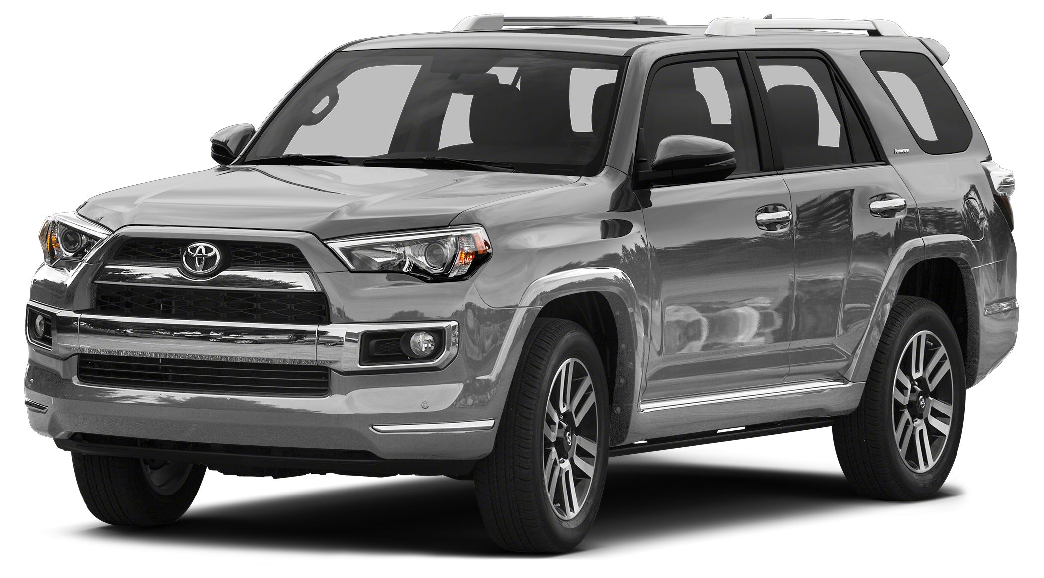 2015 Toyota 4Runner Limited CARFAX 1-Owner Limited trim CLASSIC SILVER METALLIC exterior and RED