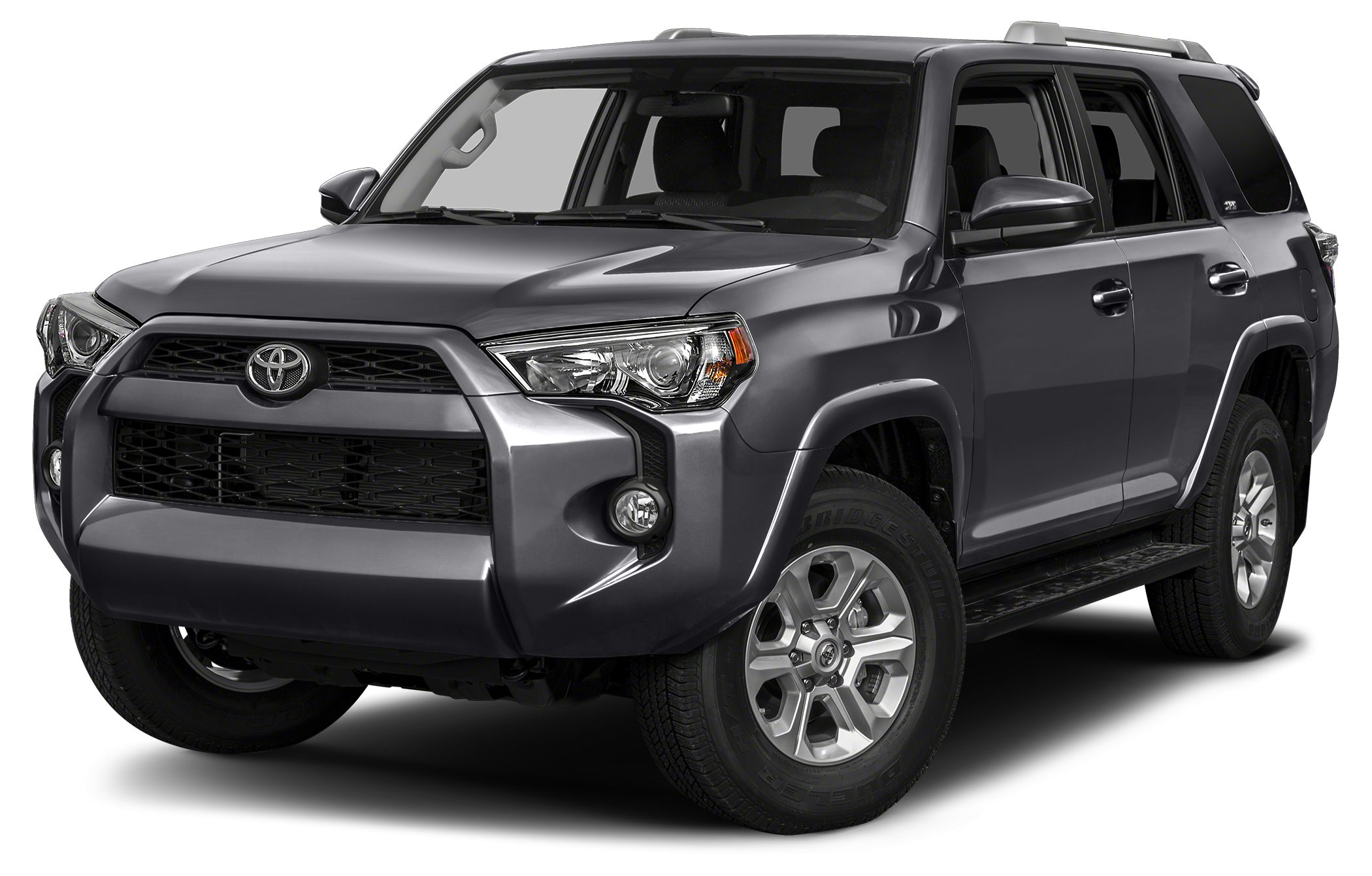 2016 Toyota 4Runner SR5 CARFAX 1-Owner MAGNETIC GRAY METALLIC exterior and BLACK FOR LIMITEDTRAI