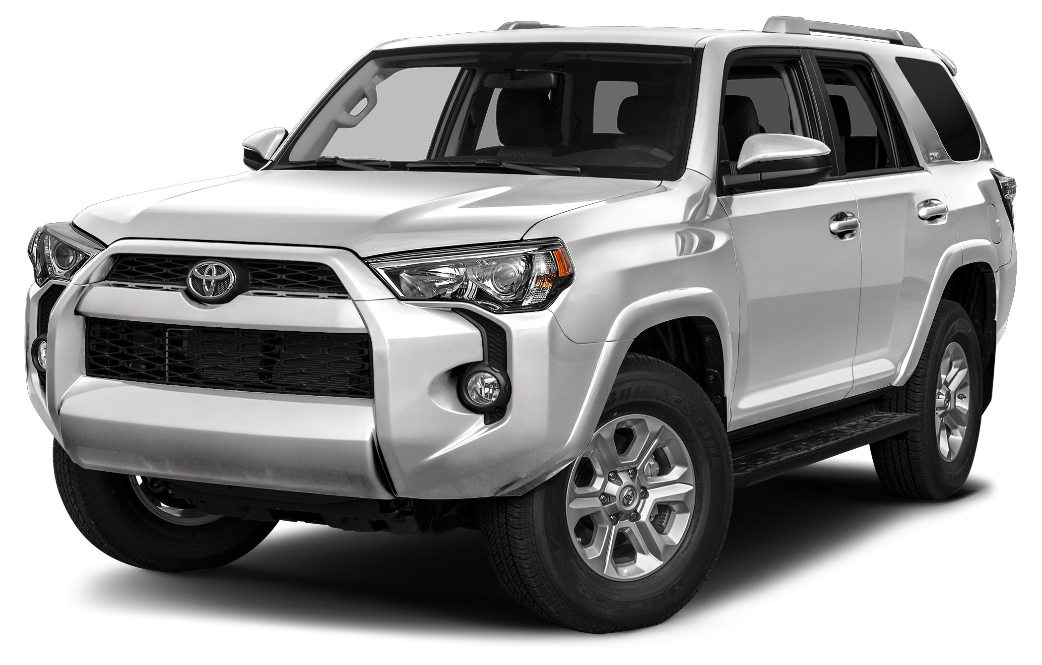 2015 Toyota 4Runner SR5 CARFAX 1-Owner 200 below Kelley Blue Book SR5 trim SUPER WHITE exterio