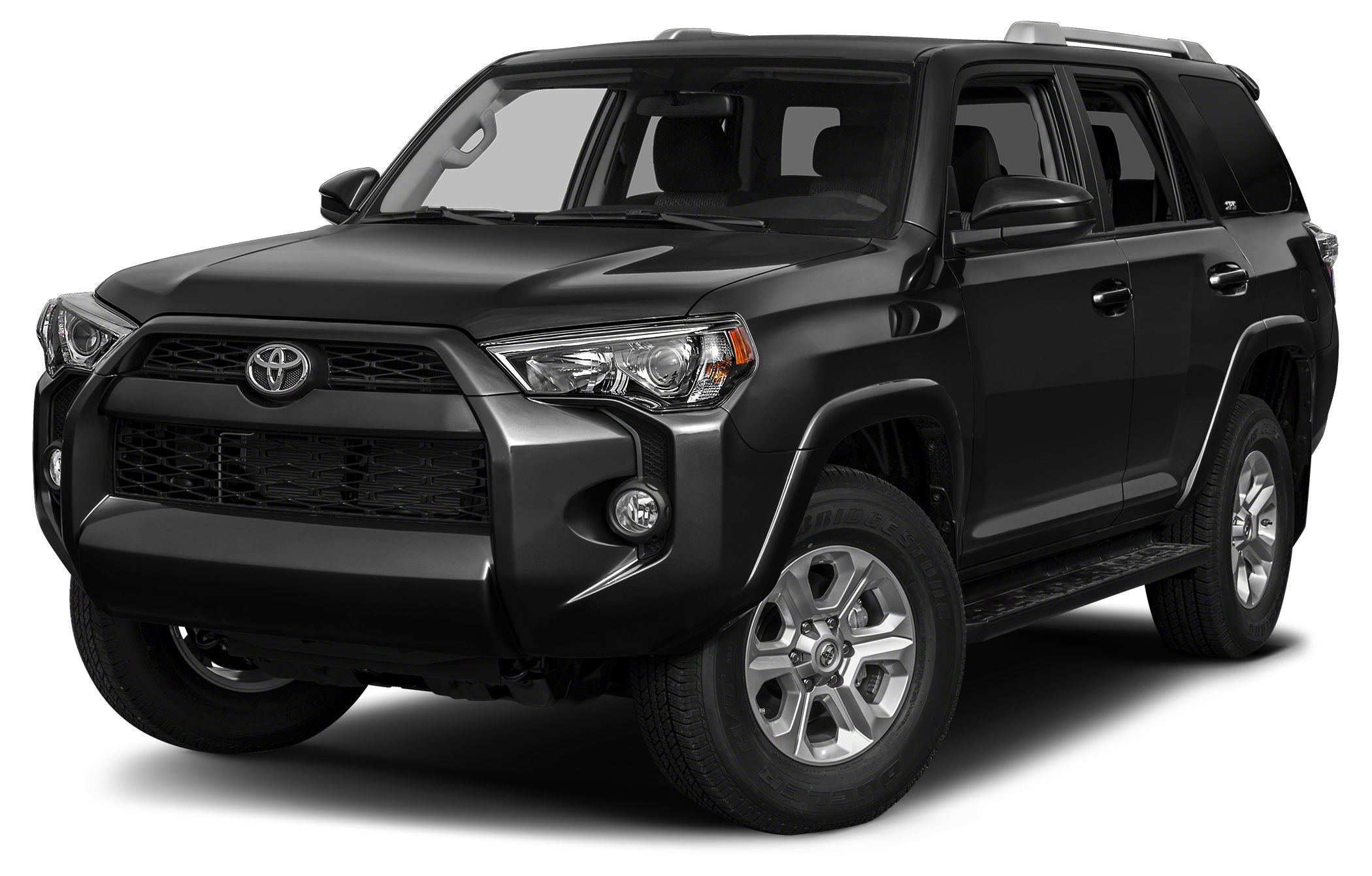 2015 Toyota 4Runner SR5 SR5 trim CARFAX 1-Owner Third Row Seat iPodMP3 Input Back-Up Camera
