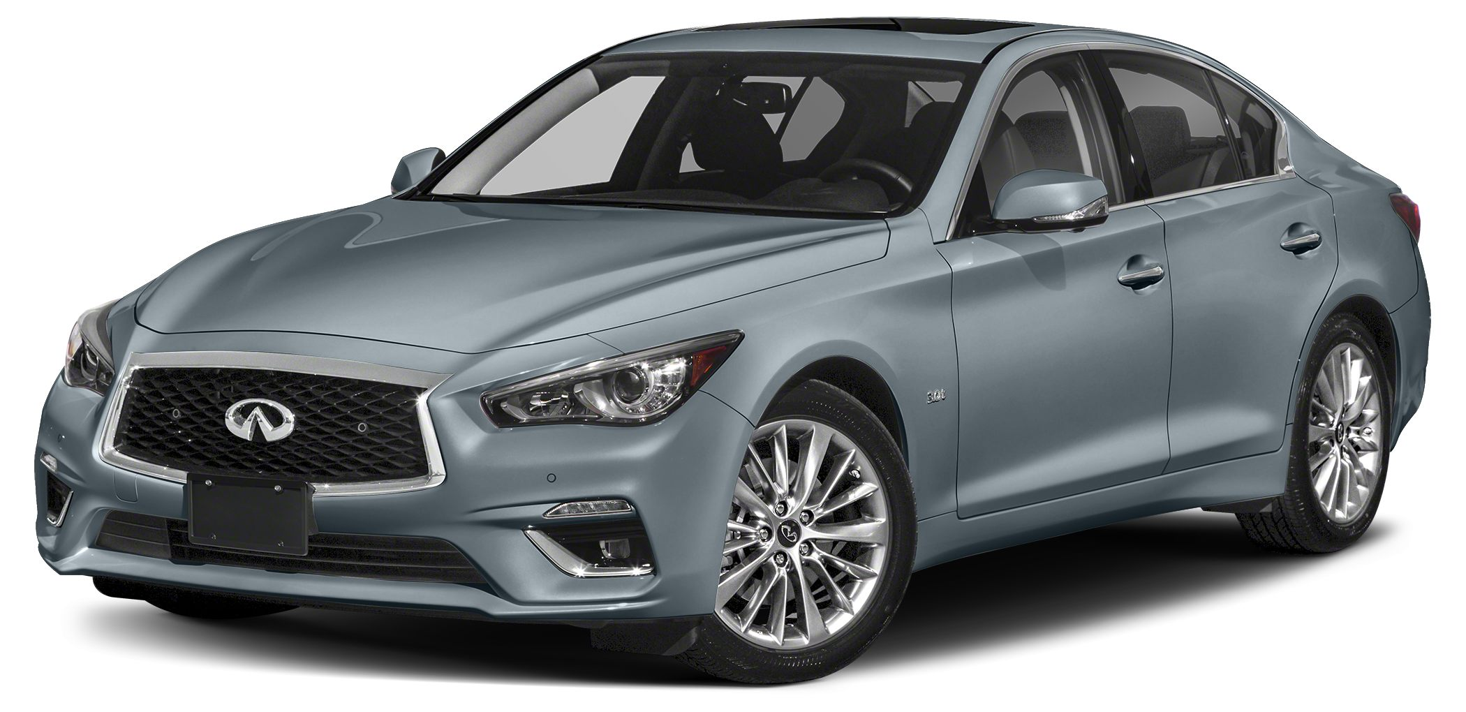 2018 INFINITI Q50 30T Luxe Optional equipment includes Cargo Package L95 Splash Guards Why