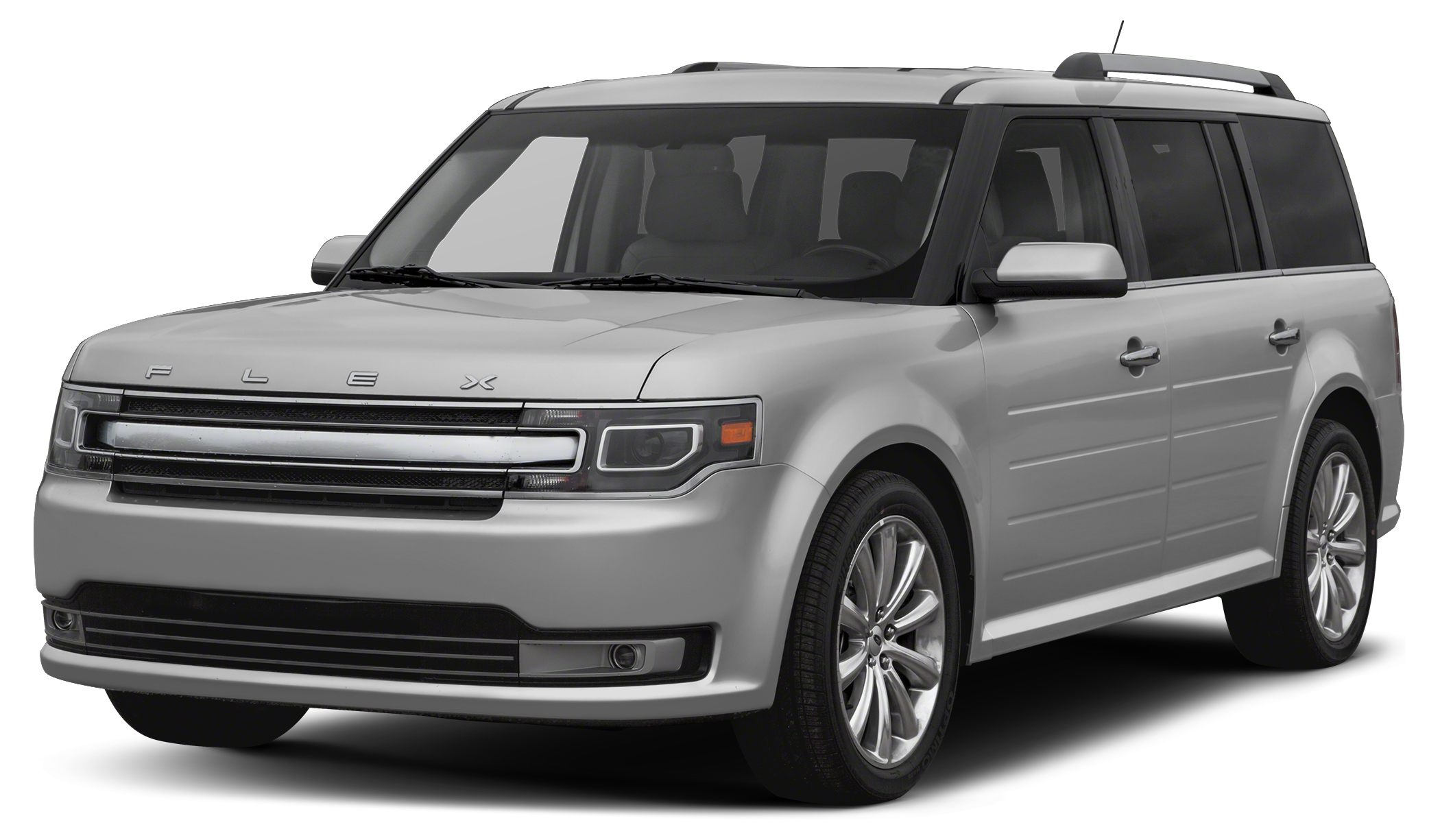 2016 Ford Flex SEL Ford Flex is the modern way to move With bold lettering on the hood futuristi
