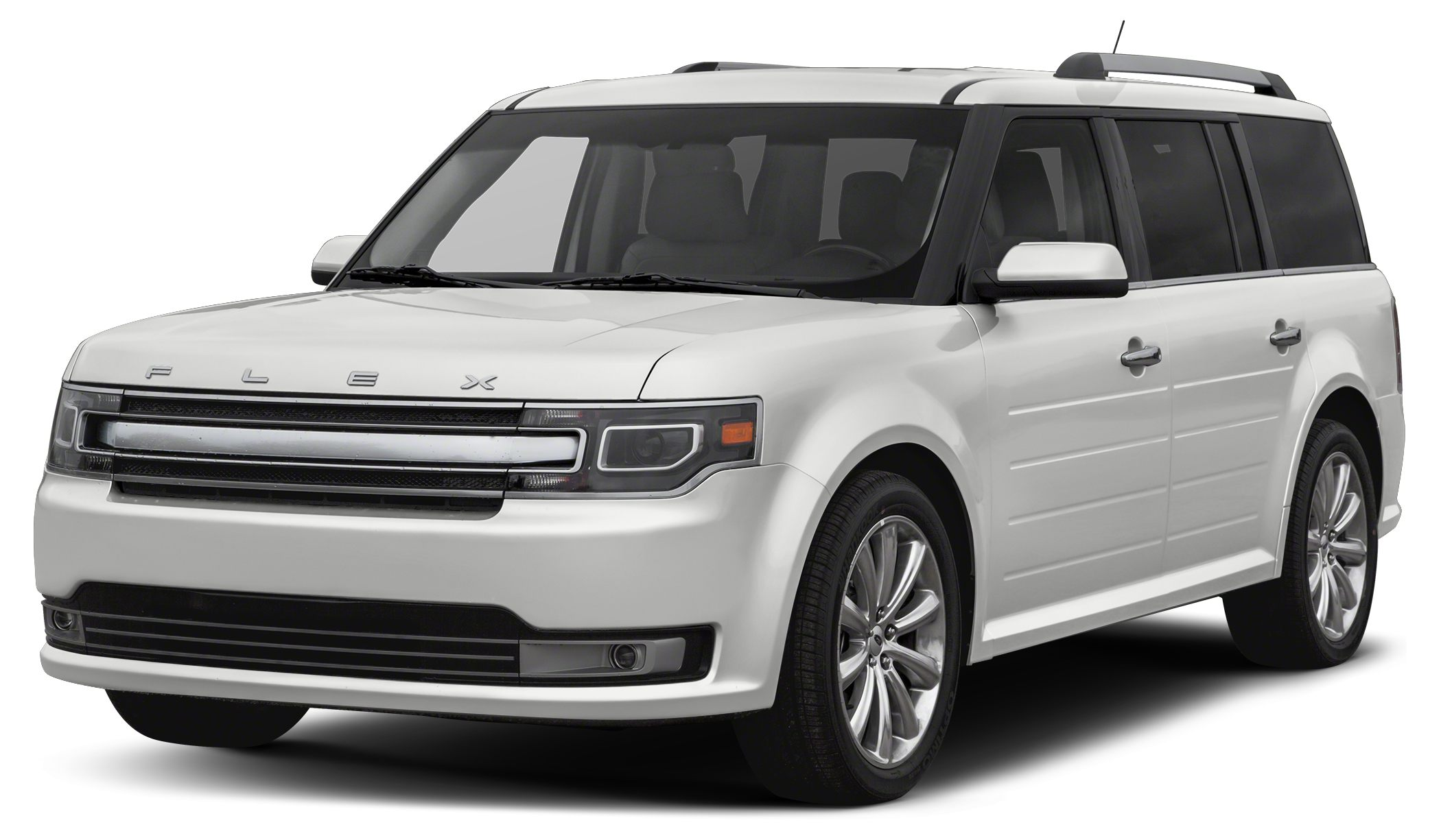 2016 Ford Flex SE Ford Flex is the modern way to move With bold lettering on the hood futuristic