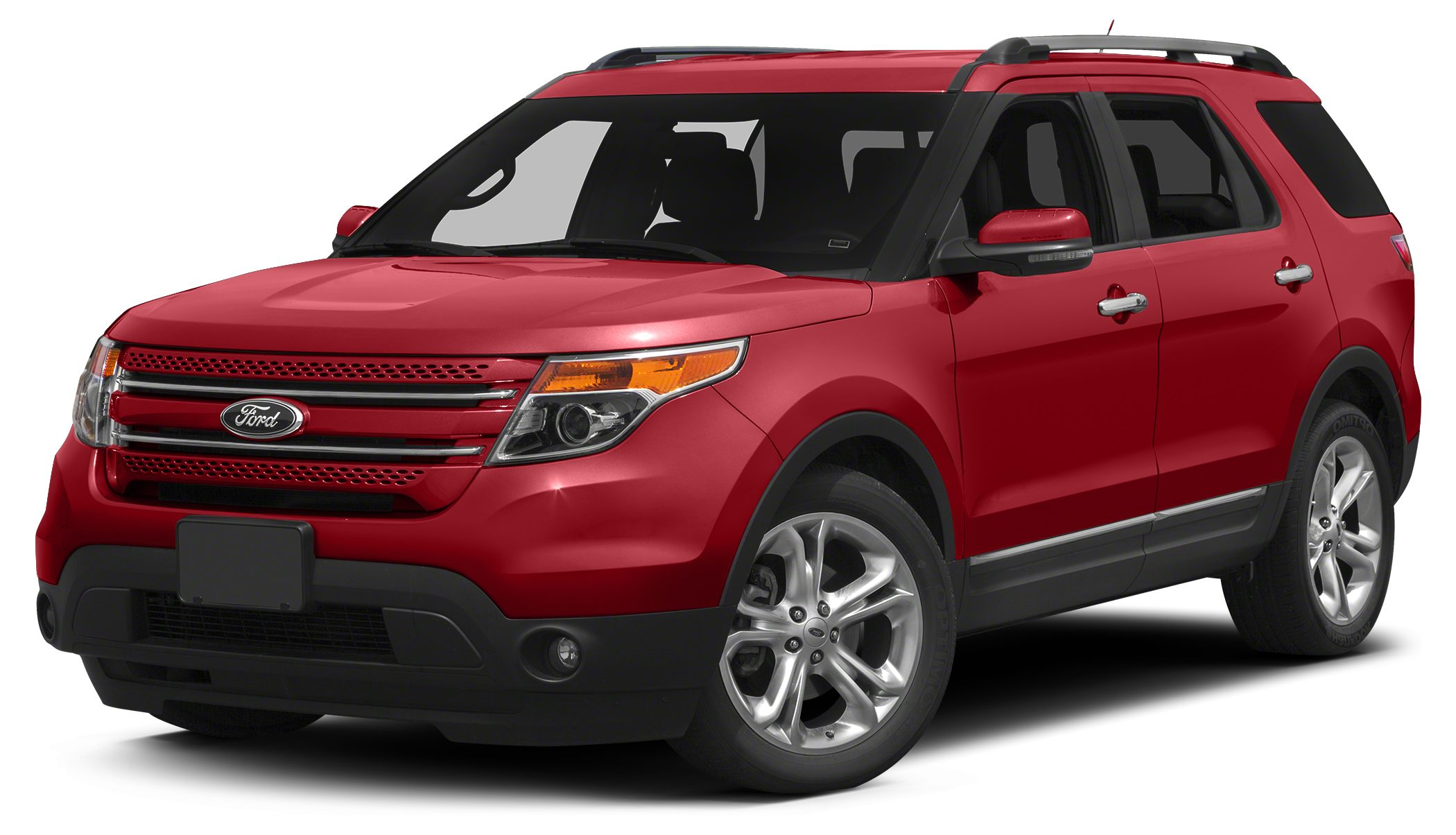 2013 Ford Explorer Limited CLEAN CARFAX and ONE OWNER Red and Ready Turbo MUST call 877