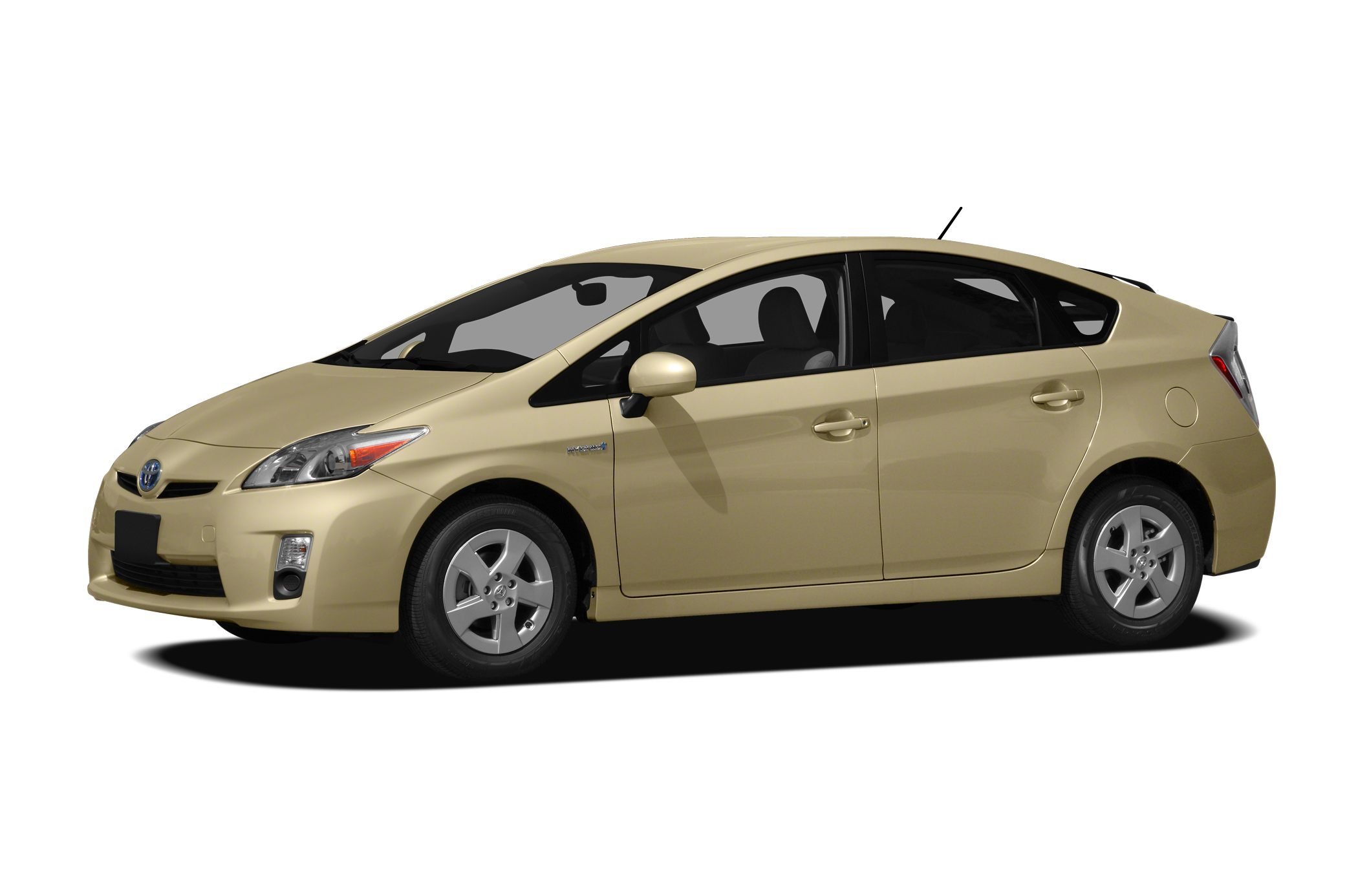 2010 Toyota Prius IV CARFAX 1-Owner IV trim EPA 48 MPG Hwy51 MPG City Heated Leather Seats Blu