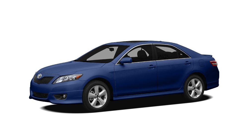 2010 Toyota Camry SE BLUE RIBBON METALLIC exterior and DARK CHARCOAL interior SE trim FUEL EFFIC
