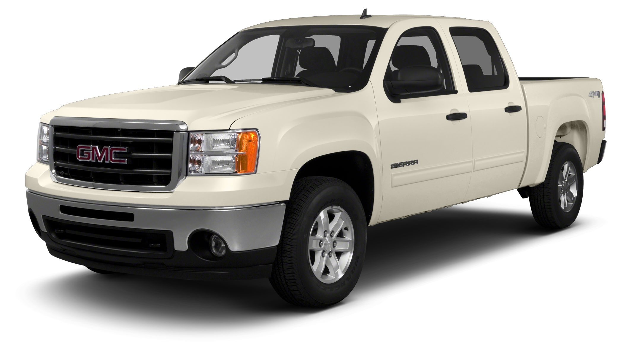 2013 GMC Sierra 1500 SLE CARFAX 1-Owner AUDIO SYSTEM AMFM STEREO WITH CD PL LPO CHROME GRIL