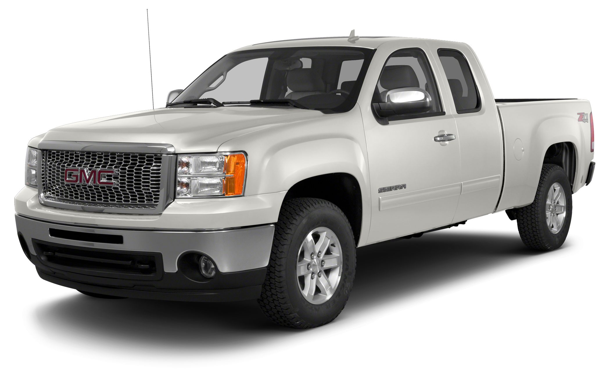 2013 GMC Sierra 1500 SLE SLE trim LPO CHROME GRILLE SURROUND WITH CHRO SUSPENSION PACKAGE HI