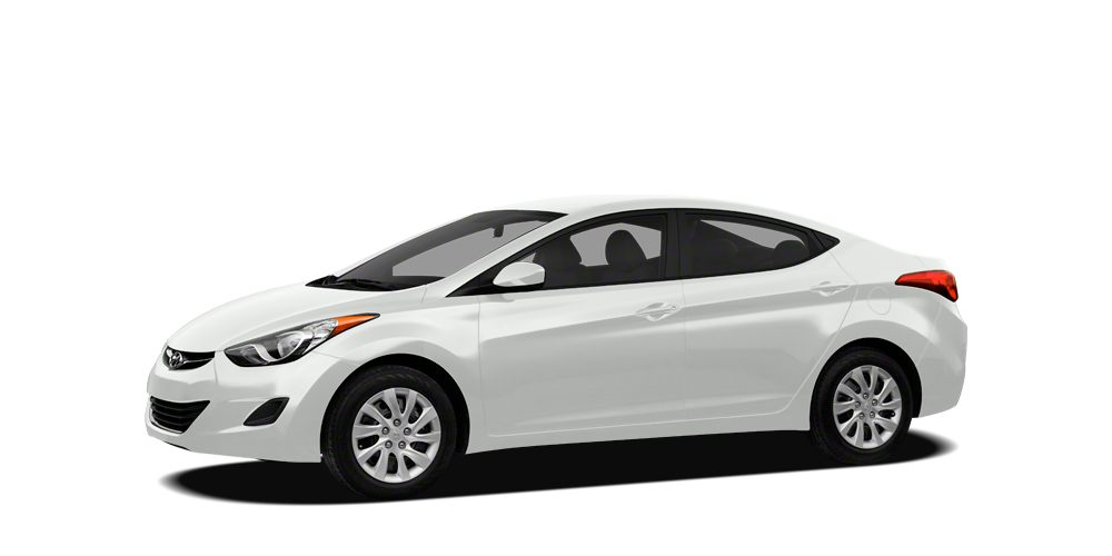 2012 Hyundai Elantra GLS CARFAX 1-OWNER VEHICLE Automatic Fuel Efficient New Arrival Price does