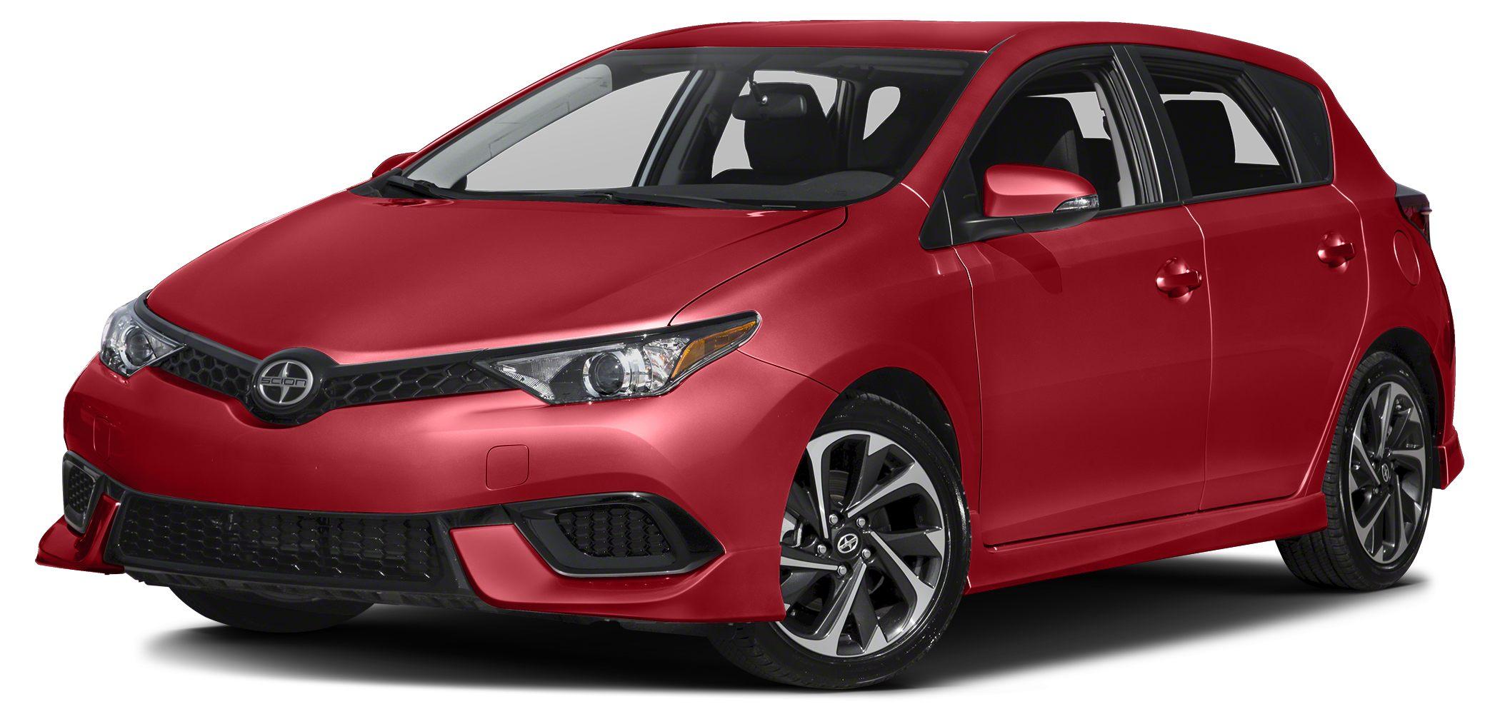 2016 Scion iM Base CARFAX 1-Owner ONLY 15819 Miles iM trim WAS 15690 EPA 37 MPG Hwy28 MPG