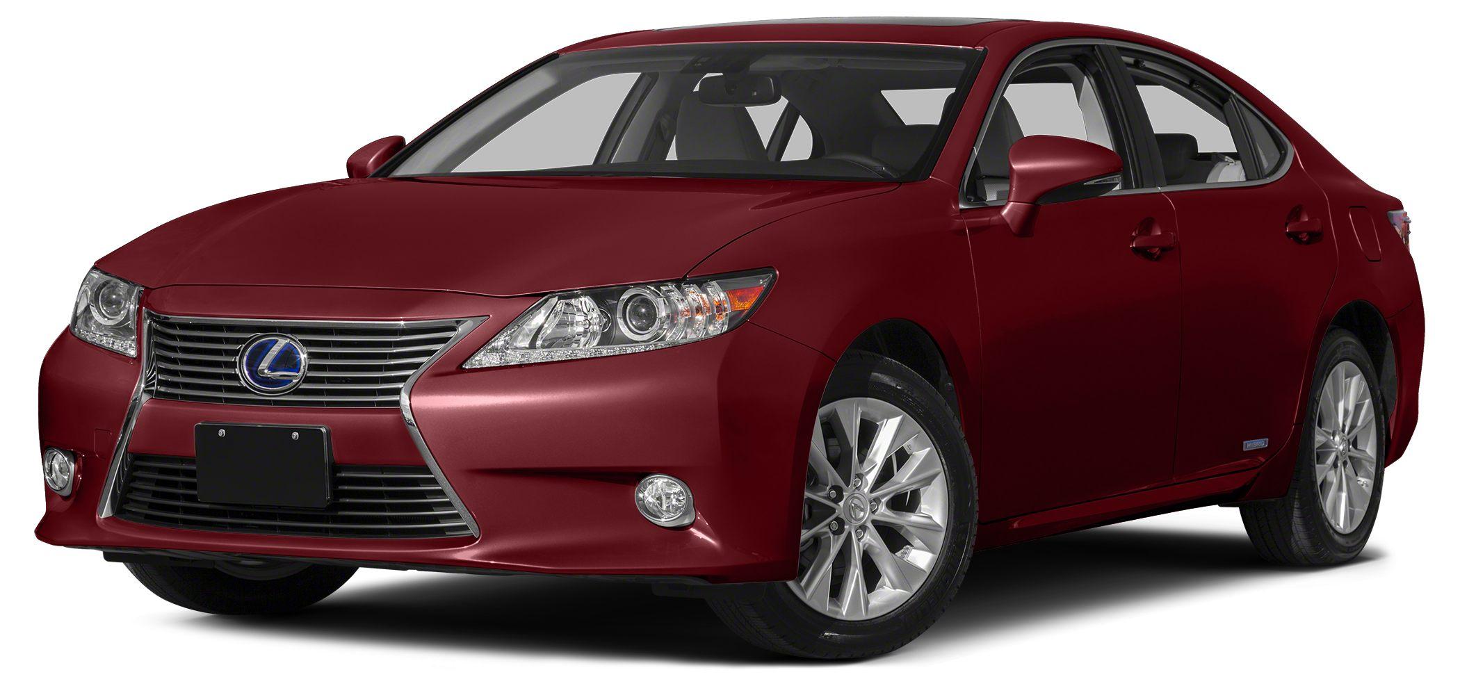 2013 Lexus ES 300h Base PREMIUM PLUS PKG1 OWNERCARFAX CERTIFIEDFULLY LOADEDNAVIGATIONB