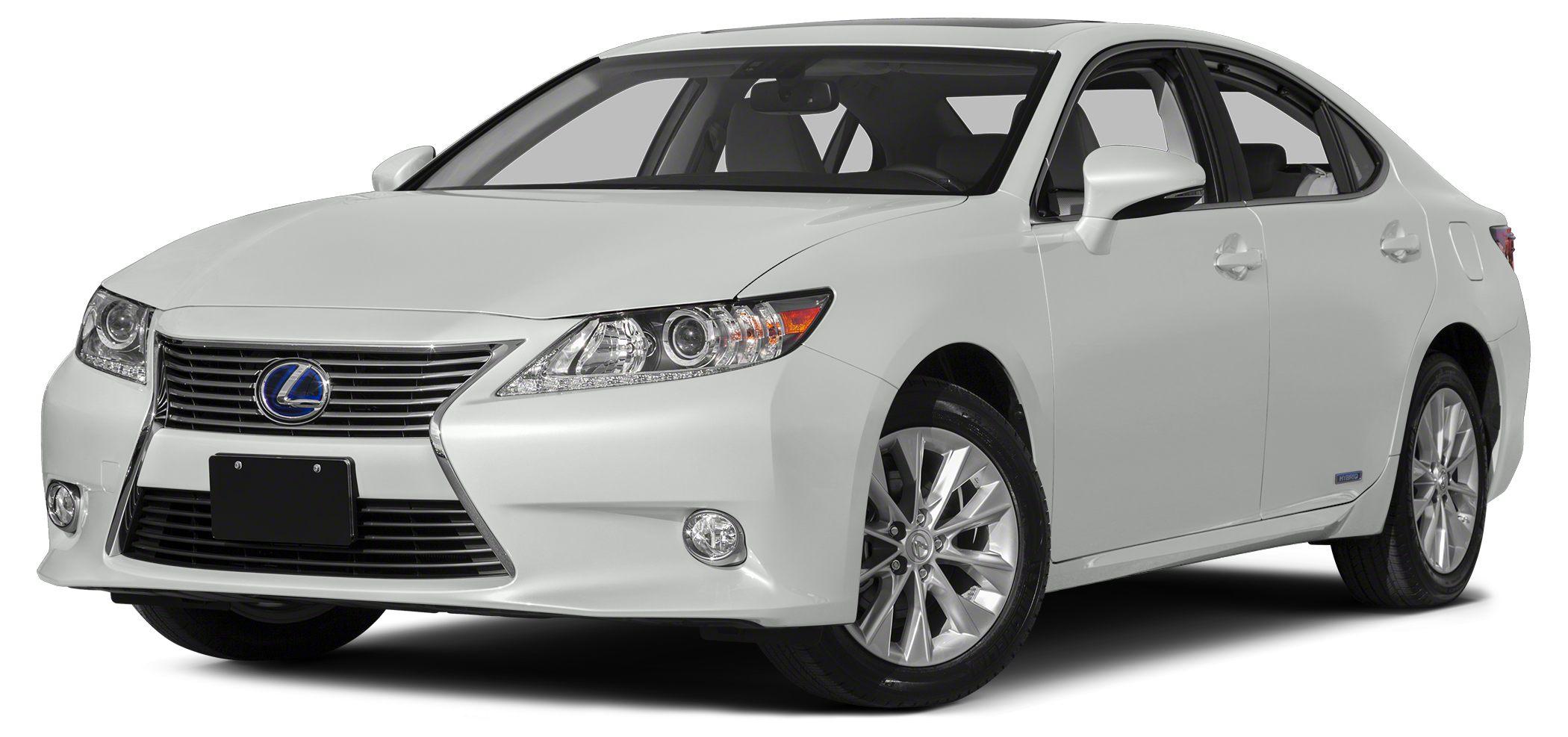 2015 Lexus ES 300h Base This 2015 Lexus ES 300h 4dr 4dr Sedan Hybrid features a 25L DUAL CAM 4 CY
