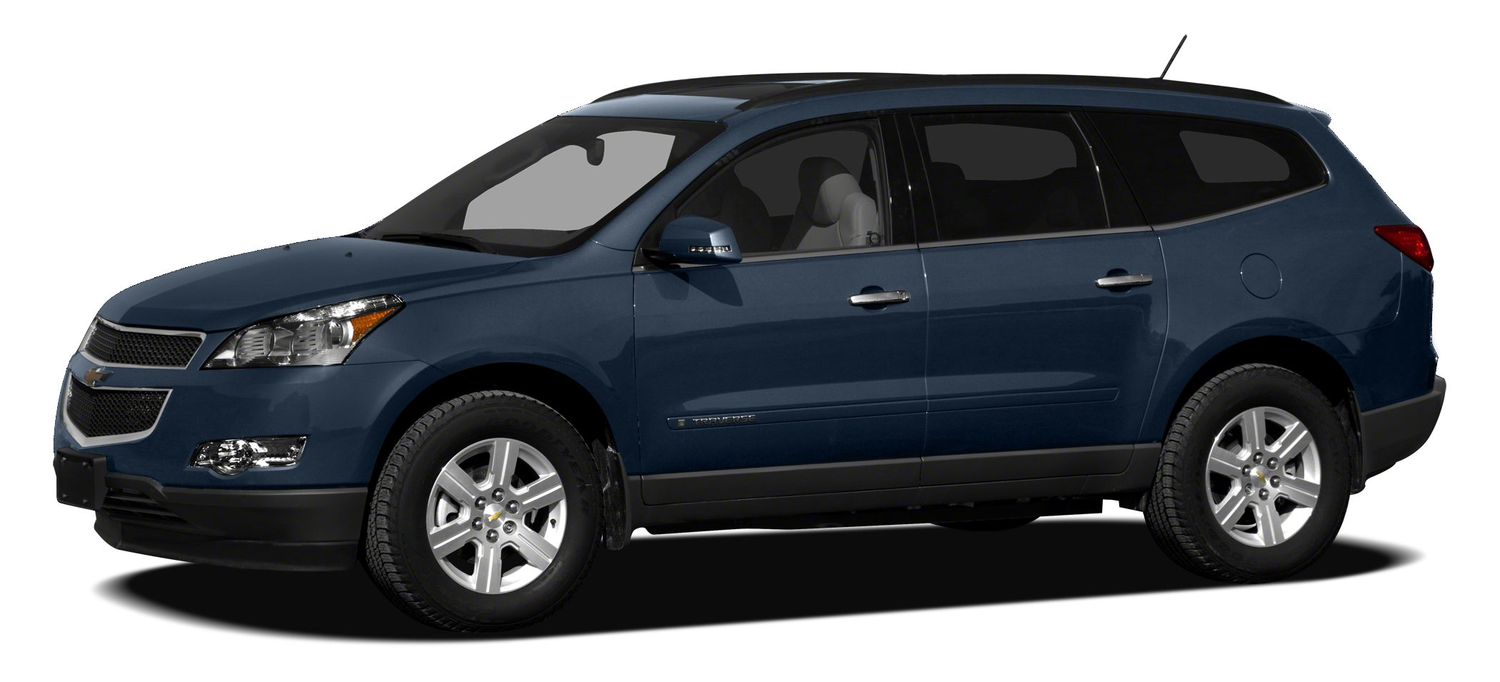 2012 Chevrolet Traverse 1LT LOW MILES - 52862 LT w1LT trim EPA 24 MPG Hwy17 MPG City 3rd Row
