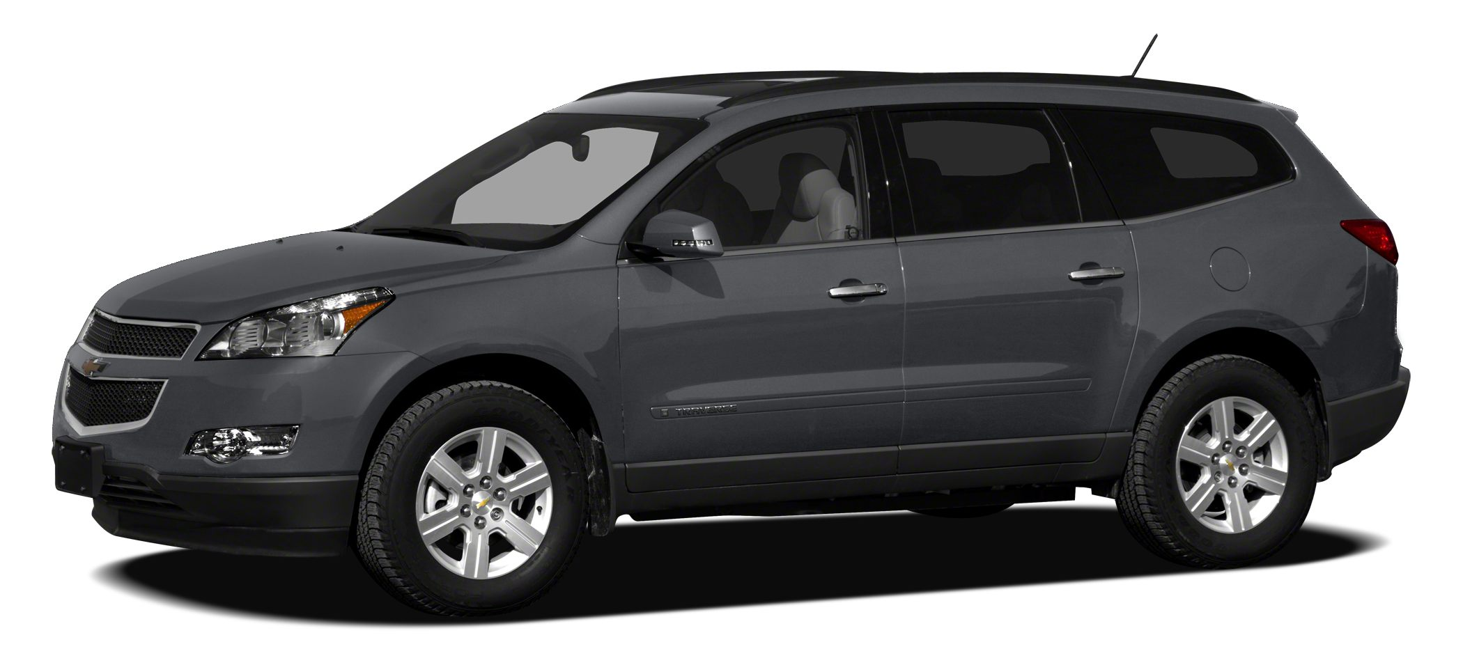 2012 Chevrolet Traverse 1LT CARFAX 1-Owner EPA 24 MPG Hwy17 MPG City LT w1LT trim 3rd Row Sea