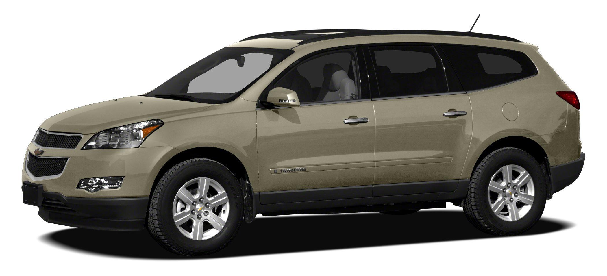 2012 Chevrolet Traverse 1LT Preferred Equipment Group 1LT 8-Way Power Driver Seat wPower Lumbar