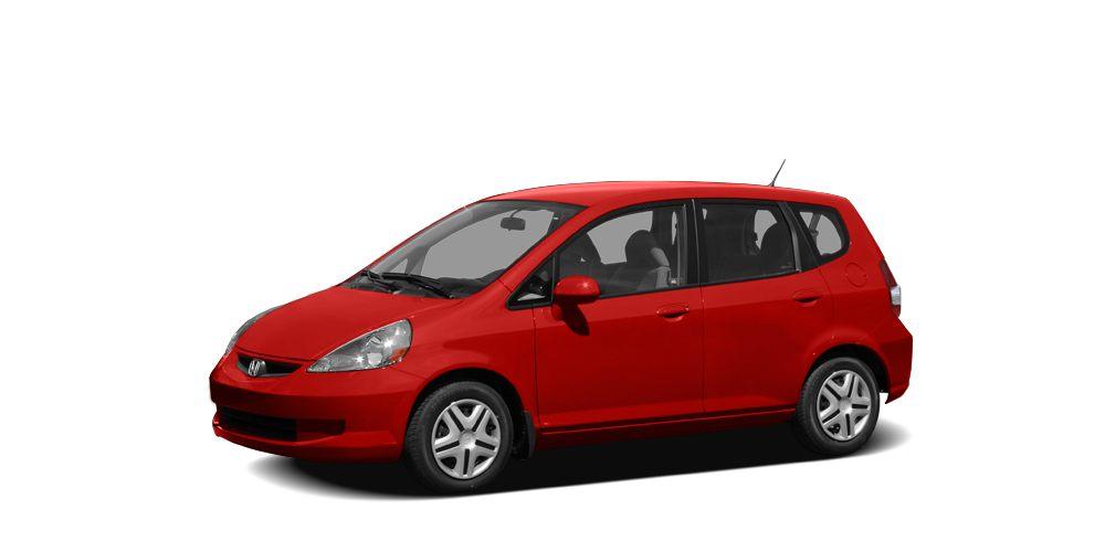 2008 Honda Fit Base Miles 80687Color Milano Red Stock 145681B VIN JHMGD384X8S030844