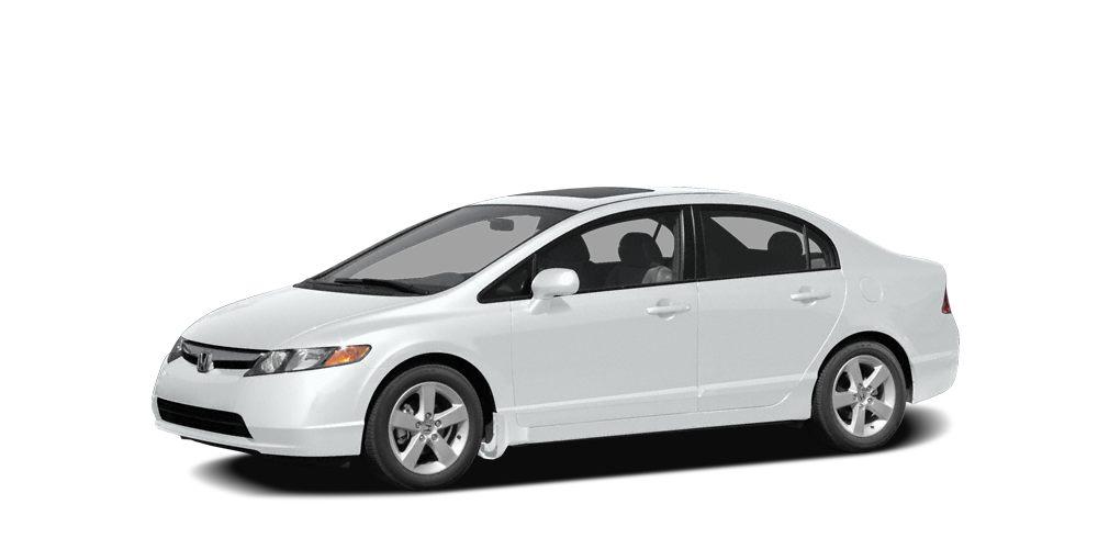 2008 Honda Civic LX Miles 203677Color White Stock K16934A VIN 2HGFA165X8H528069