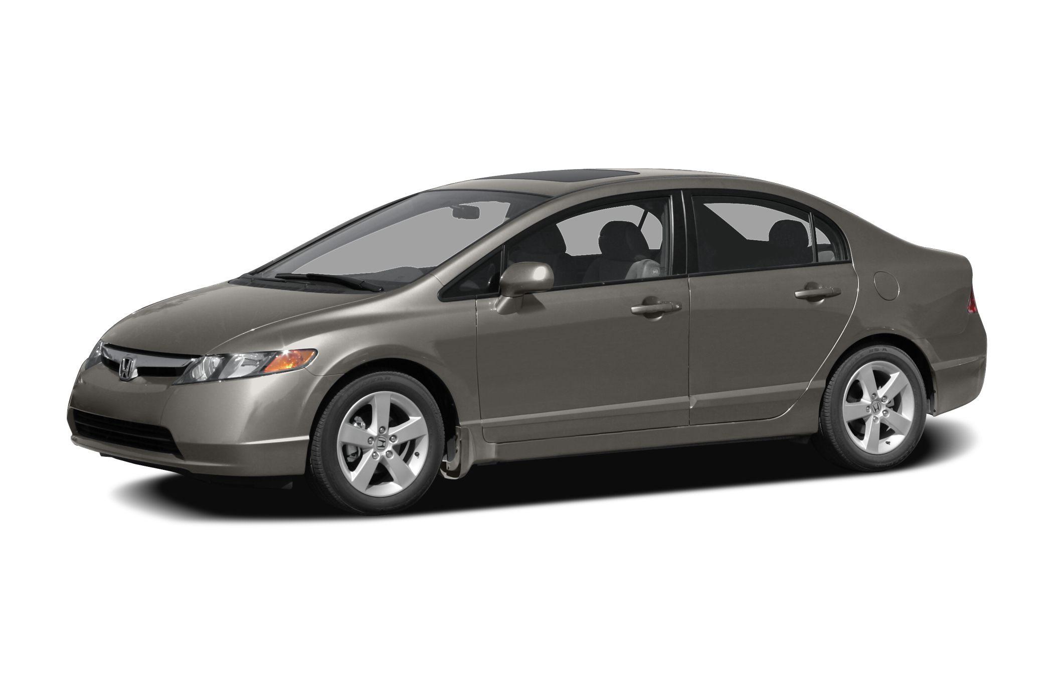 2008 Honda Civic EX Miles 83734Color Silver Stock CU58185A VIN 2HGFA16898H327581