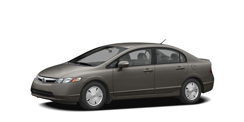 2008 Honda Civic Hybrid  Grab a bargain on this 2008 Honda Civic Hybrid 4DR SDN HYB CVS before it