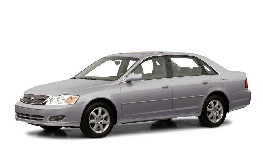 2001 Toyota Avalon XLS XLS wBucket Seats trim EPA 29 MPG Hwy21 MPG City Heated Leather Seats