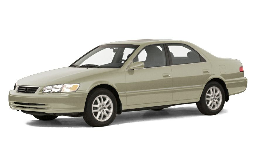2001 Toyota Camry LE Snag a bargain on this 2001 Toyota Camry before someone else snatches it Roo