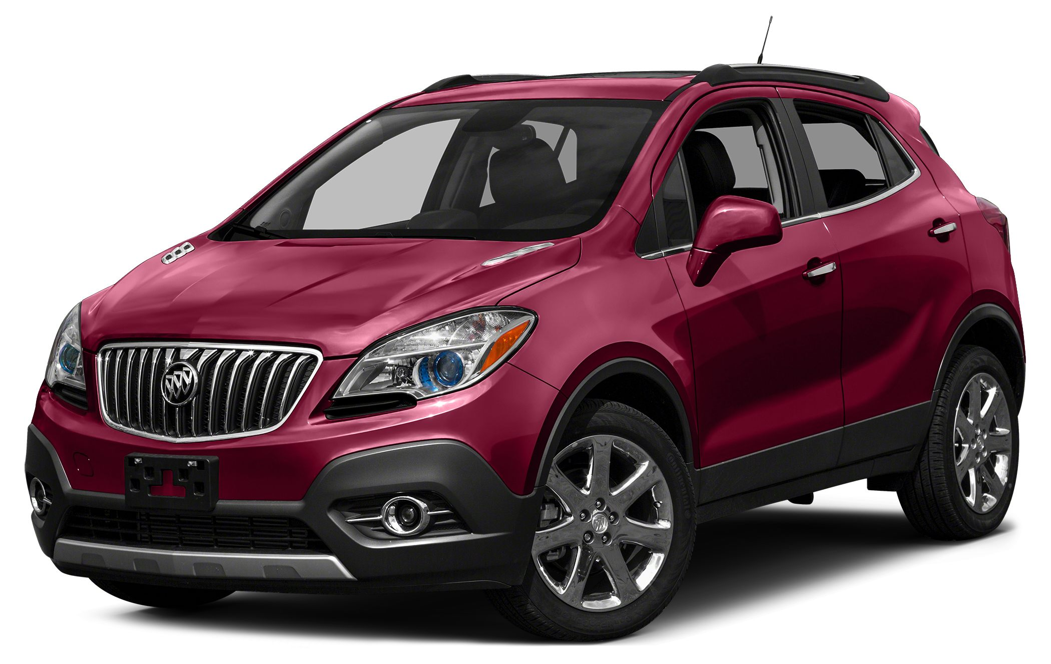 2015 Buick Encore Base Color Ruby Red Metallic Stock EN15646 VIN KL4CJESB