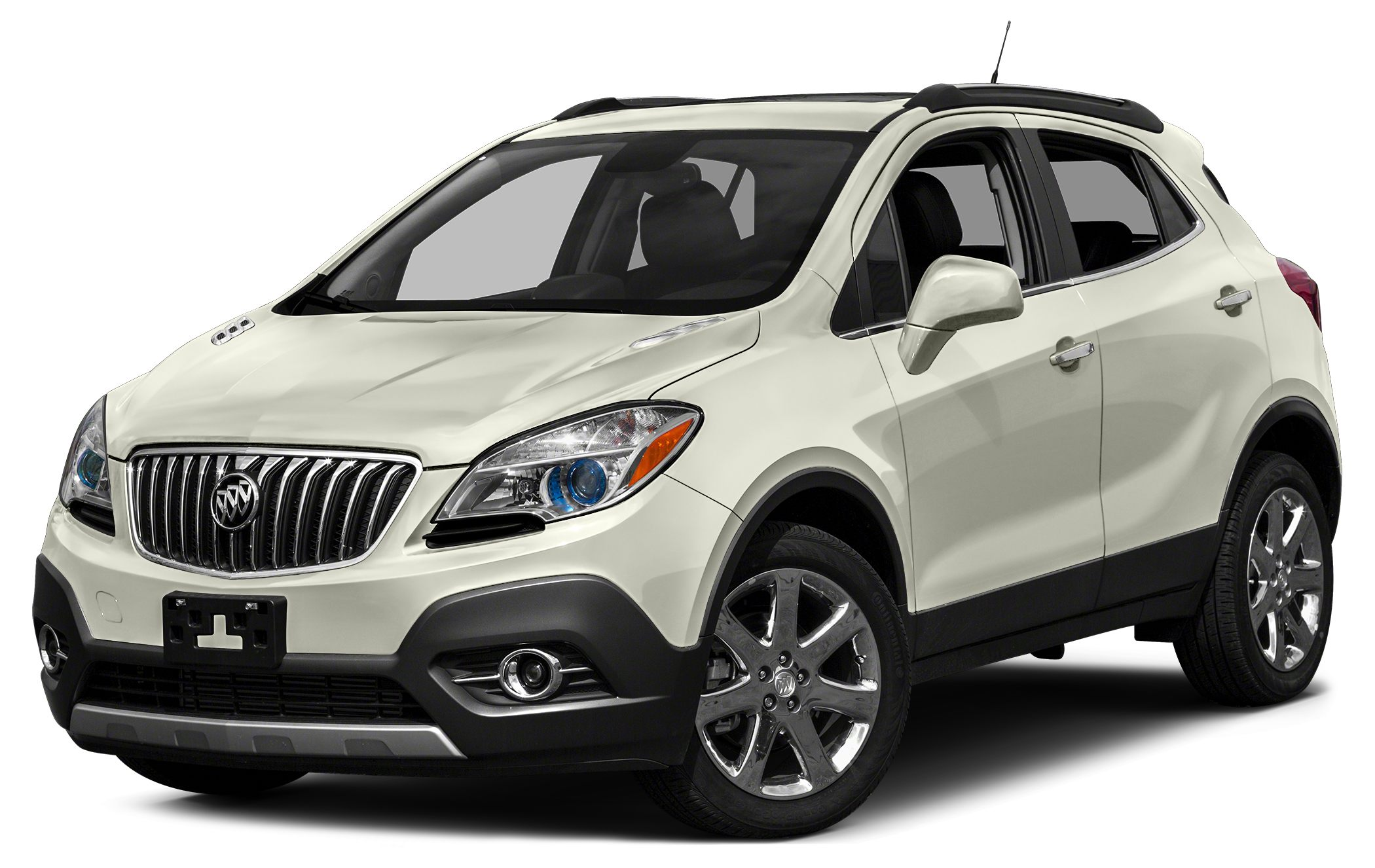 2015 Buick Encore Leather Miles 4174Color White Pearl Metallic Stock B15068L VIN KL4CJCSB9FB