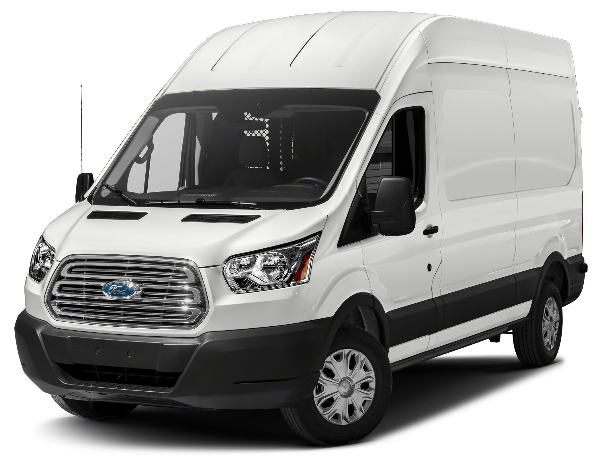 2015 Ford Transit-250 148 WB High Roof Cargo Miles 247Color White Stock S14686Y VIN 1FTNR2XM