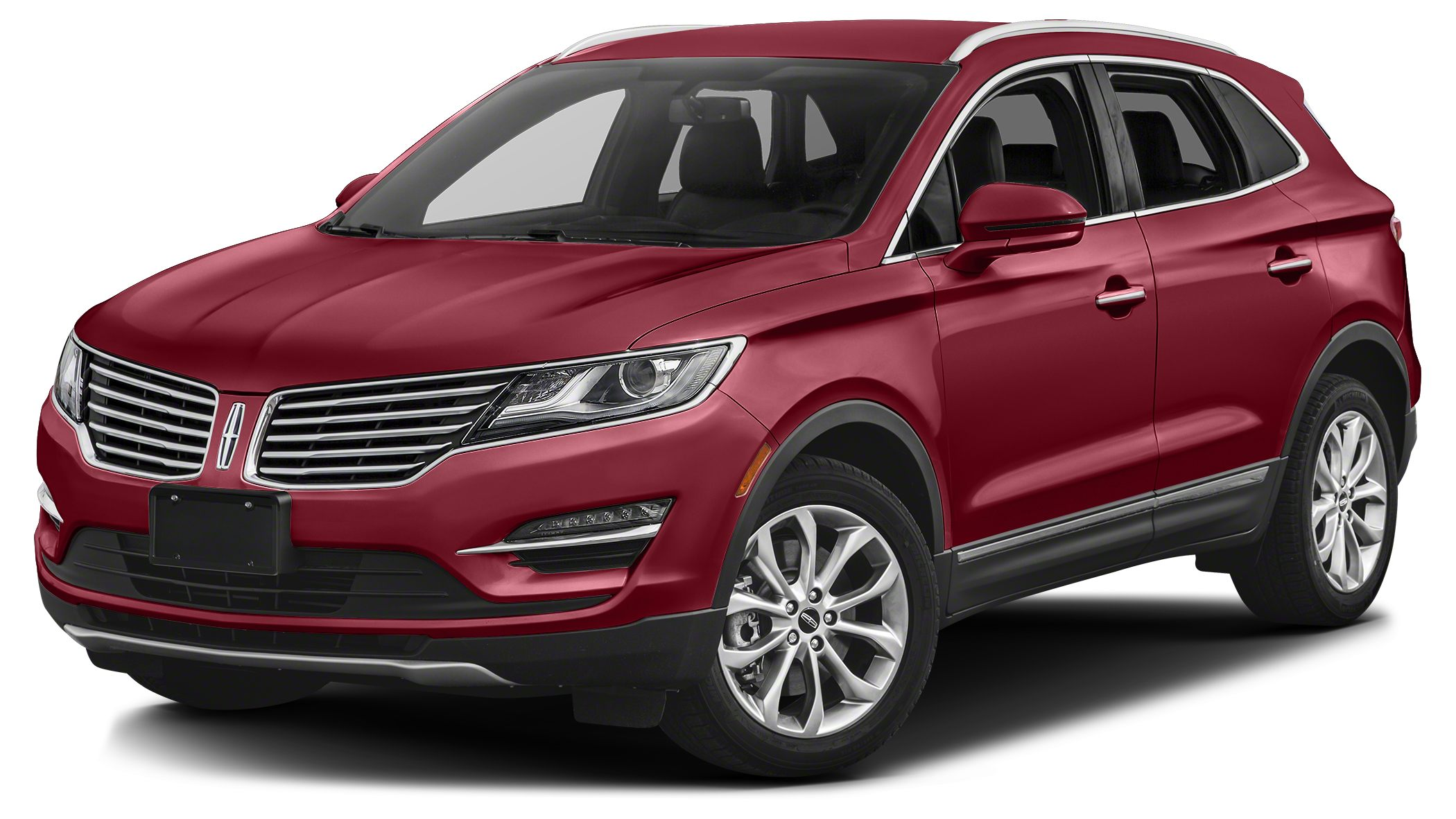 2017 Lincoln MKC Reserve Miles 6Color Ruby Red Metallic Tinted Clearcoat Stock 17C71 VIN 5LM