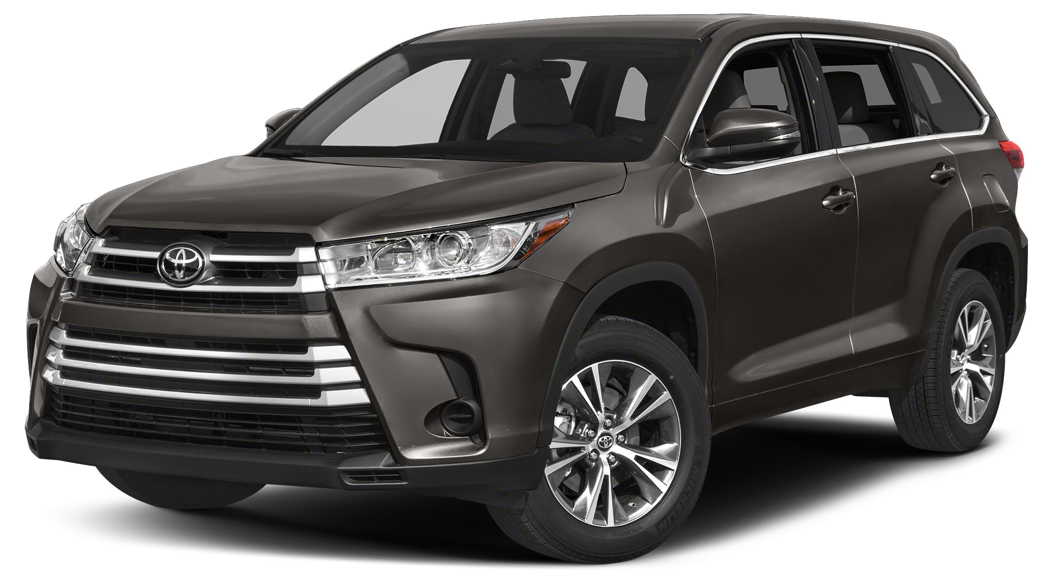 2017 Toyota Highlander LE Third Row Seat CD Player Bluetooth Aluminum Wheels All Wheel Drive