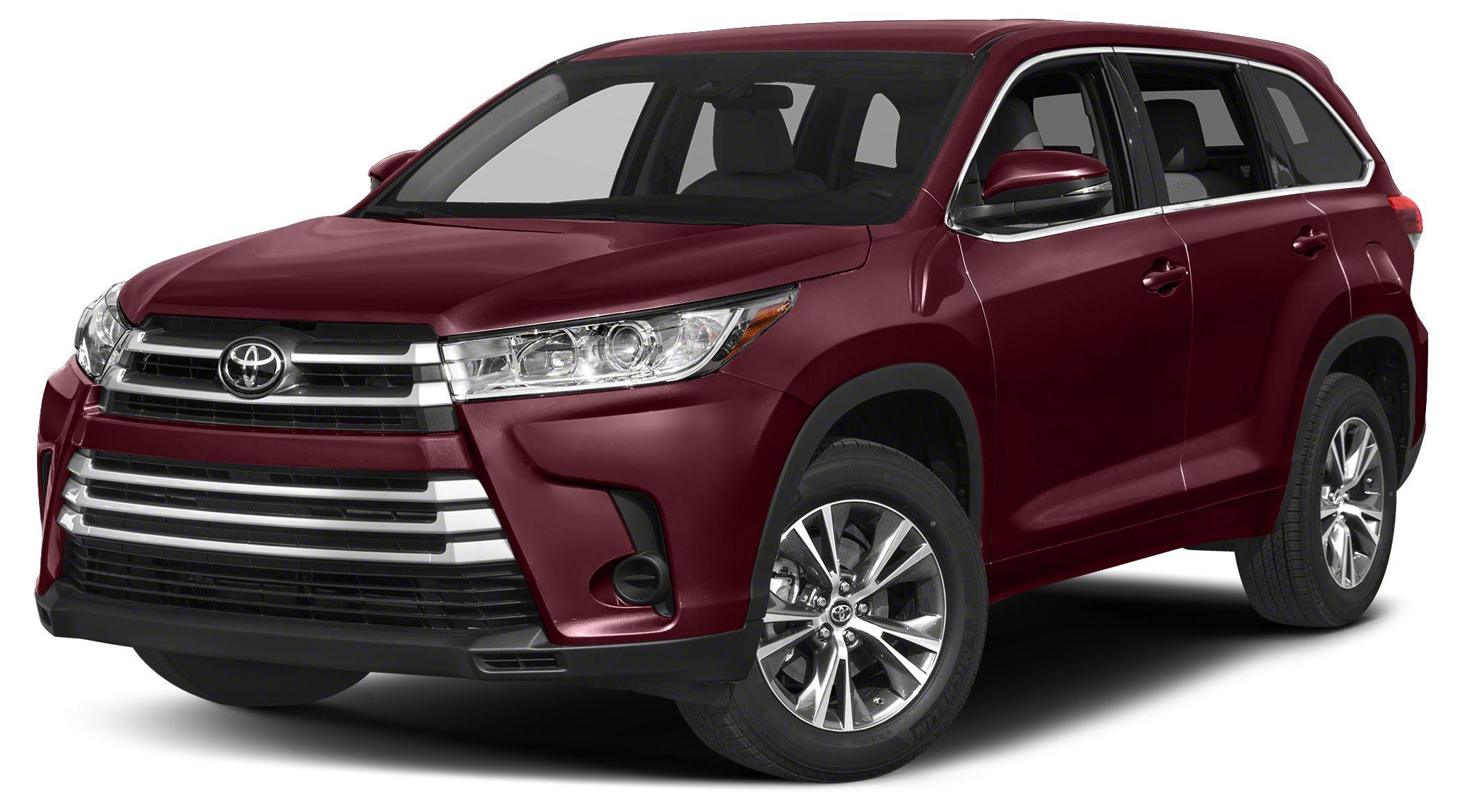 2018 Toyota Highlander LE This 2018 Toyota Highlander 4dr LE features a 35L V6 Cylinder 6cyl Gaso