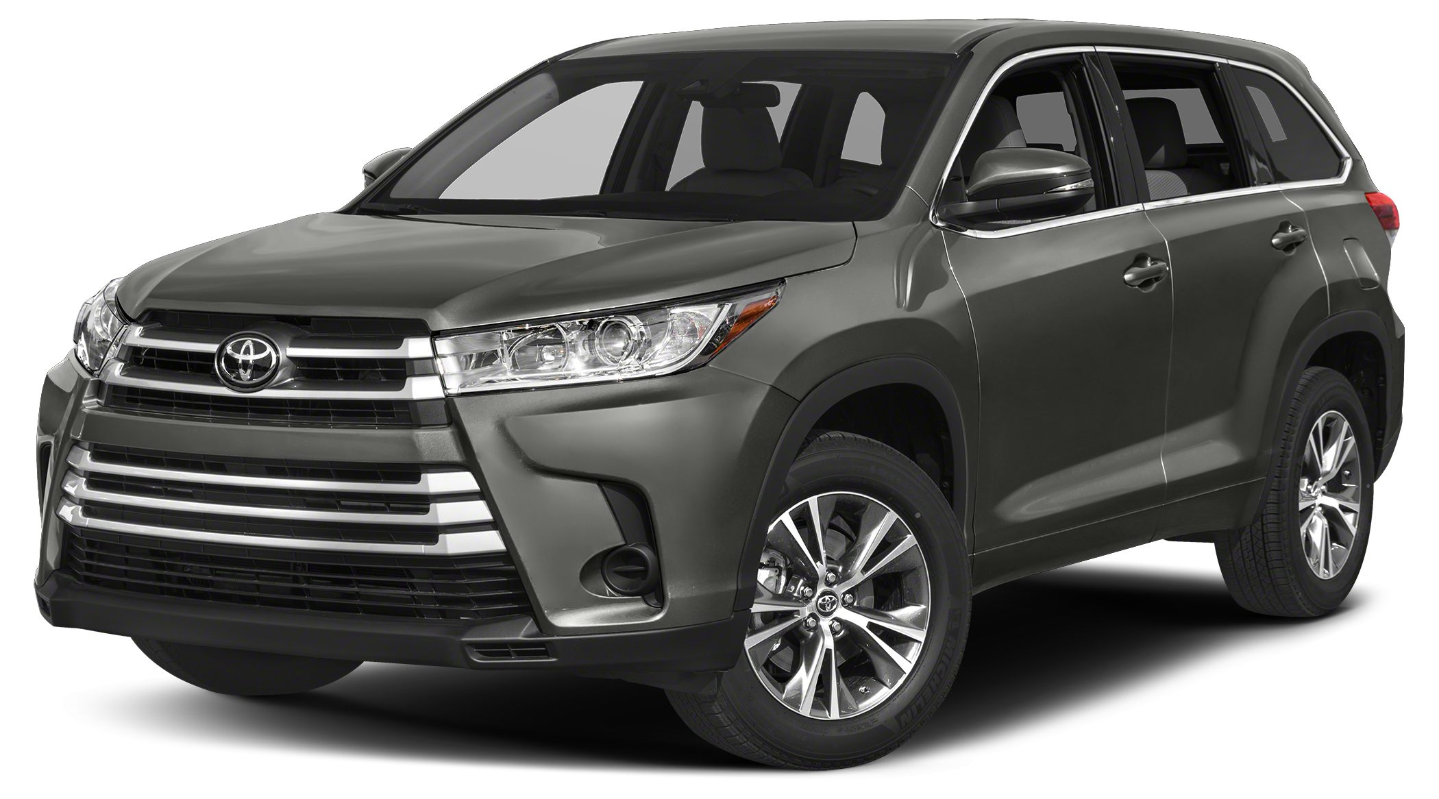 2017 Toyota Highlander LE Plus 3rd Row Seat Bluetooth CD Player Dual Zone AC iPodMP3 Input