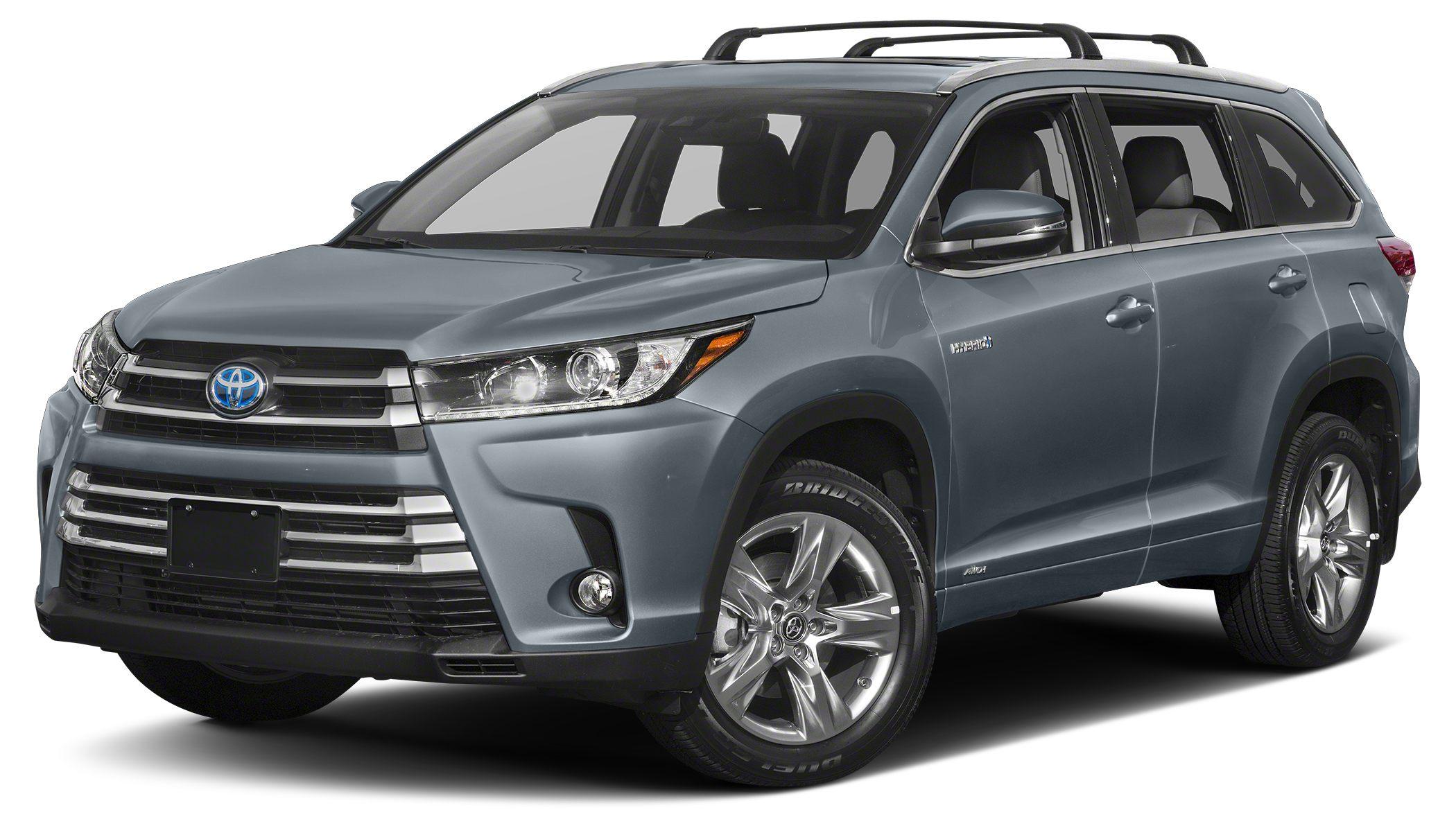 2018 Toyota Highlander Hybrid Limited Platinum Shoreline Blue Pearl Hybrid Limited Platinum Prefer