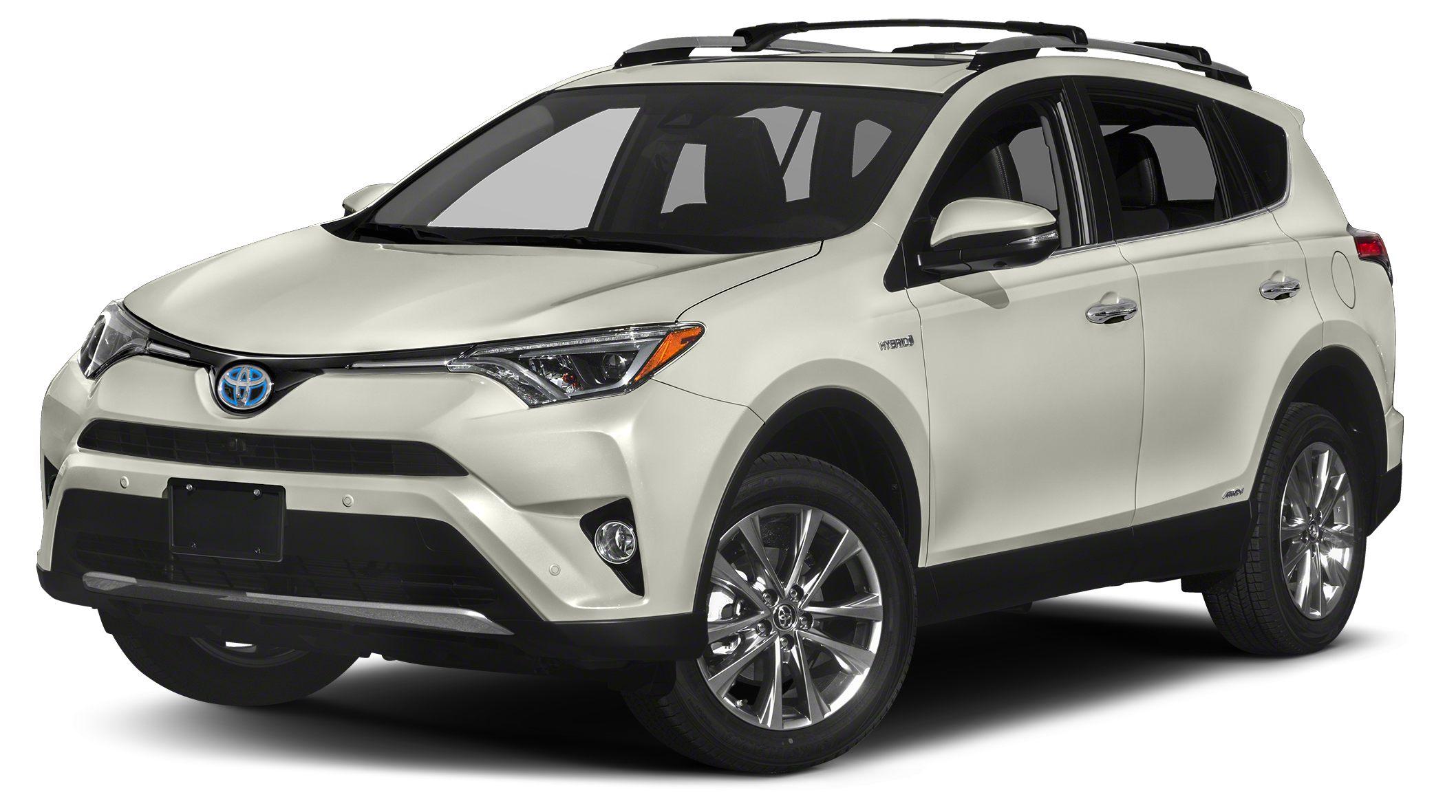 2018 Toyota RAV4 Hybrid Limited Blizzard Pearl Limited Preferred Owners Portfolio 25L 4-Cylinde