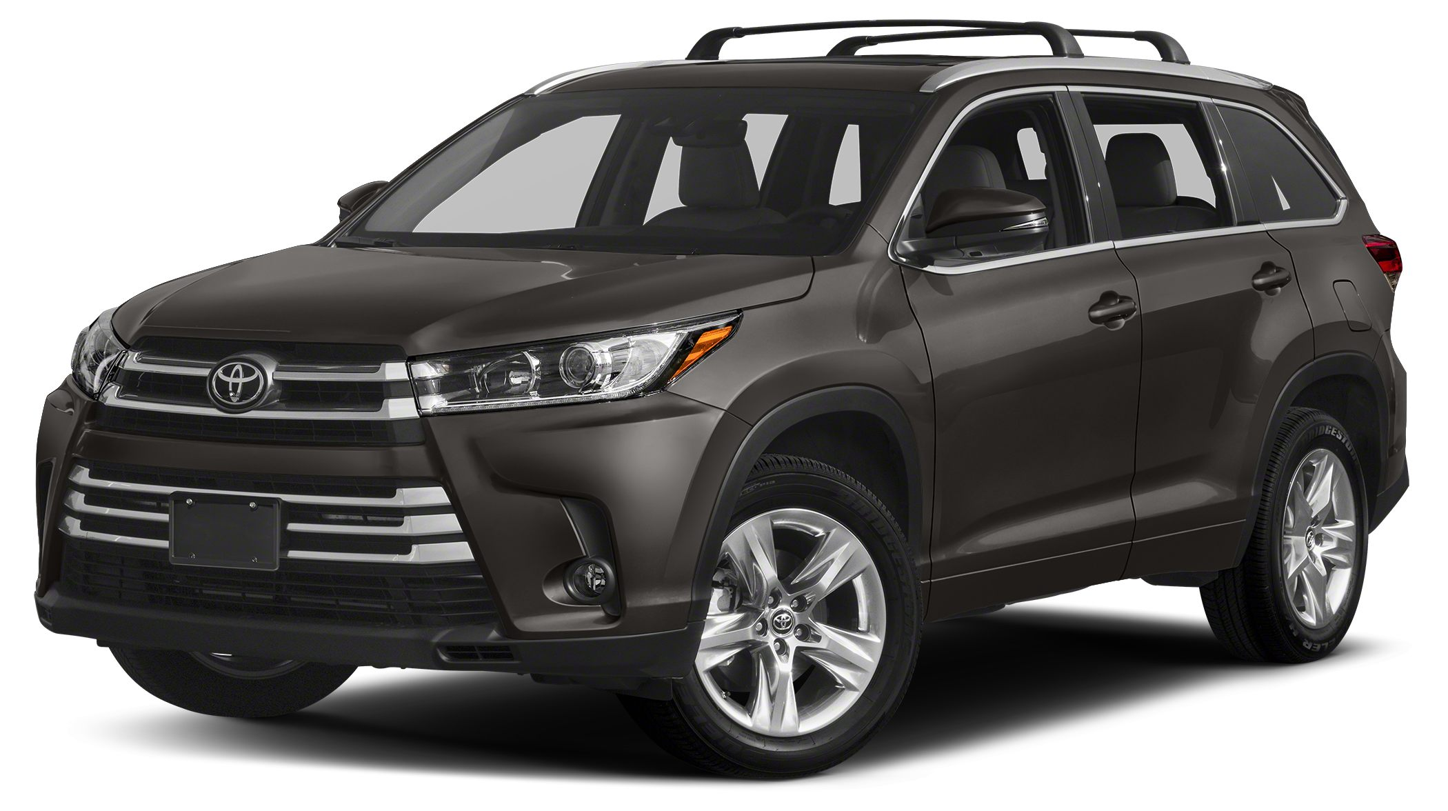 2018 Toyota Highlander Limited Moonroof Heated Leather Seats Nav System Third Row Seat Chrome
