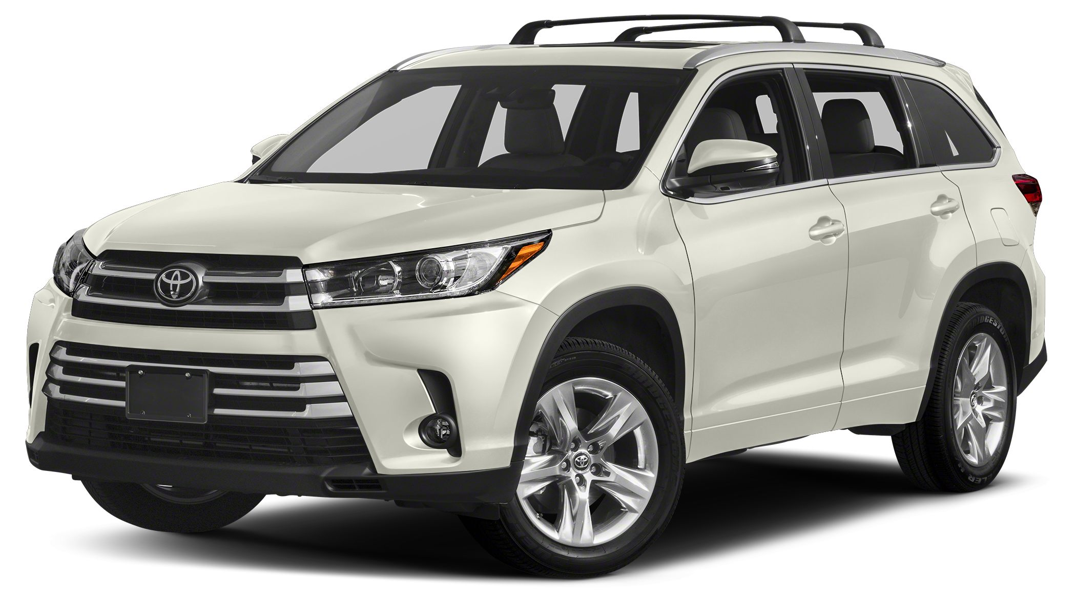 2017 Toyota Highlander Limited Platinum Navigation Sunroof 3rd Row Seat Heated Leather Seats P