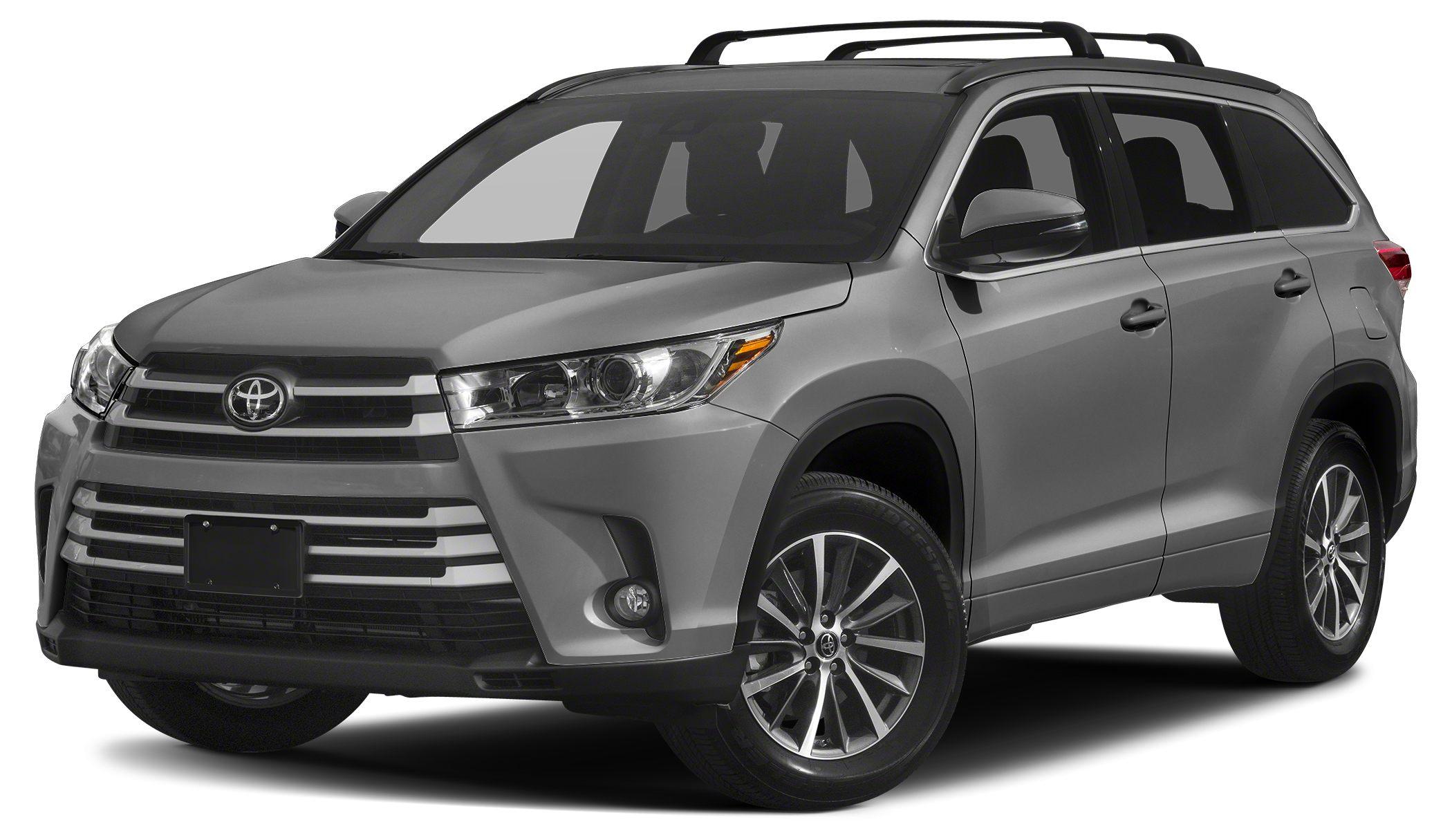 2017 Toyota Highlander XLE XLE trim CARFAX 1-Owner ONLY 10142 Miles EPA 26 MPG Hwy20 MPG City