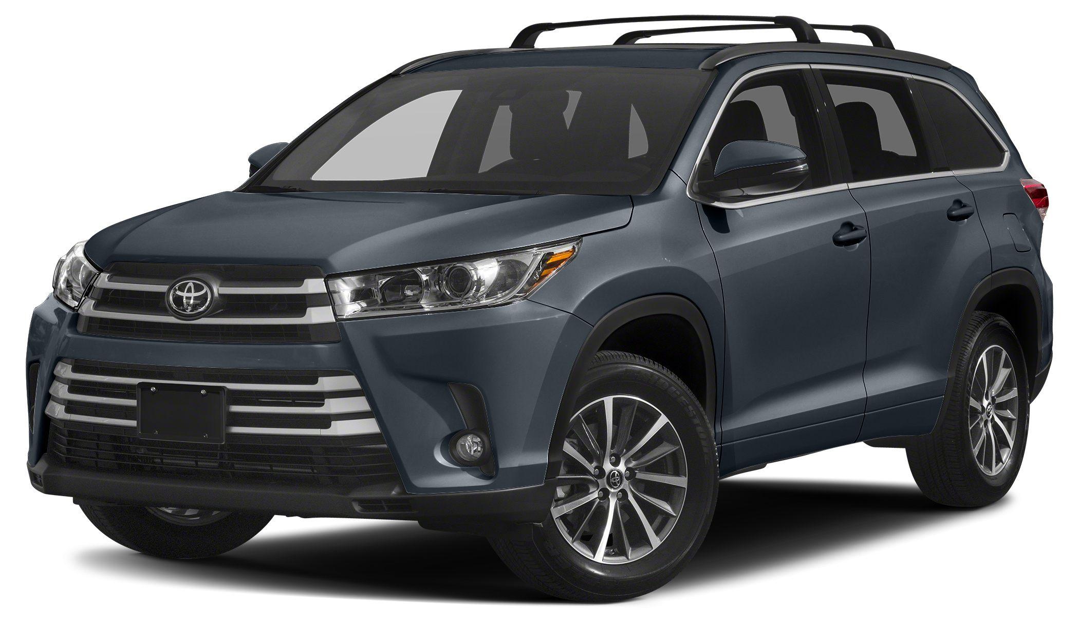 2017 Toyota Highlander XLE Sunroof Heated Leather Seats Navigation 3rd Row Seat Alloy Wheels