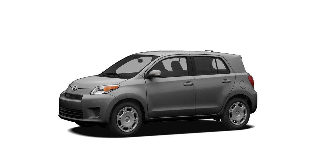 2012 Scion xD Base XD trim MAGNETIC GRAY METALLIC exterior and DARK CHARCOAL interior FUEL EFFIC