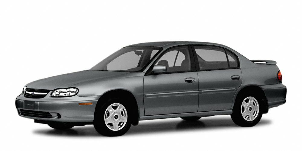 2003 Chevrolet Malibu Base CD Player 12000 Mile Warranty Malibu trim EPA 29 MPG Hwy20 MPG Cit