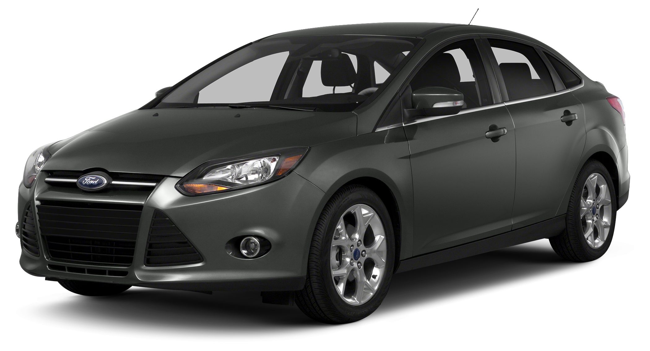 2014 Ford Focus Titanium Miles 11Color Sterling Gray Metallic Stock F304716 VIN 1FADP3J22EL2