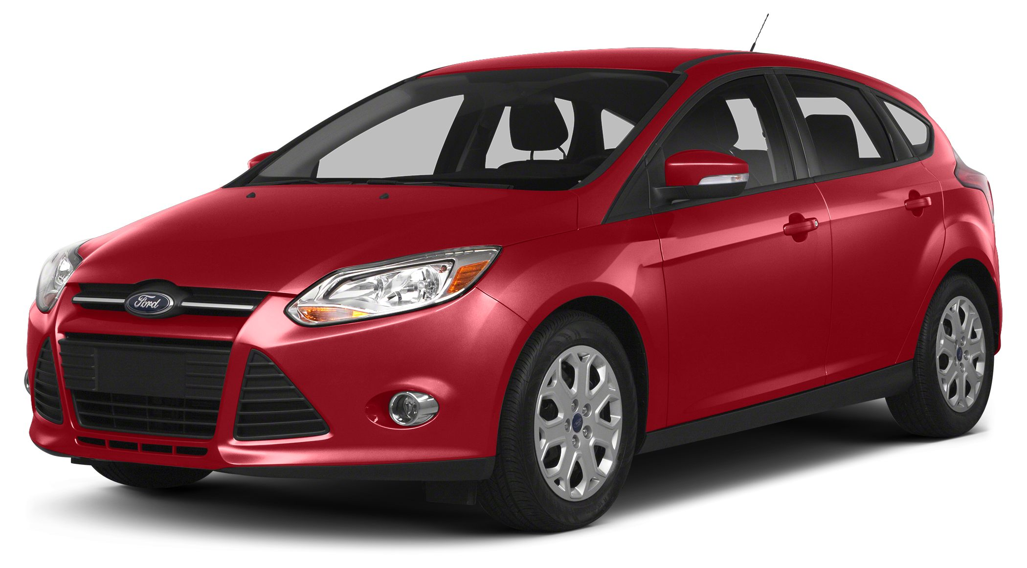 2014 Ford Focus SE HATCHBACK AUTOMATIC TRANSMISSION SYNC WMY FORD RUBY RED METALLIC REAR SPOI