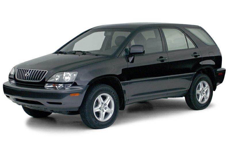 2000 Lexus RX 300 Base Introducing the 2000 Lexus RX 300 Offering crisply executed design genero