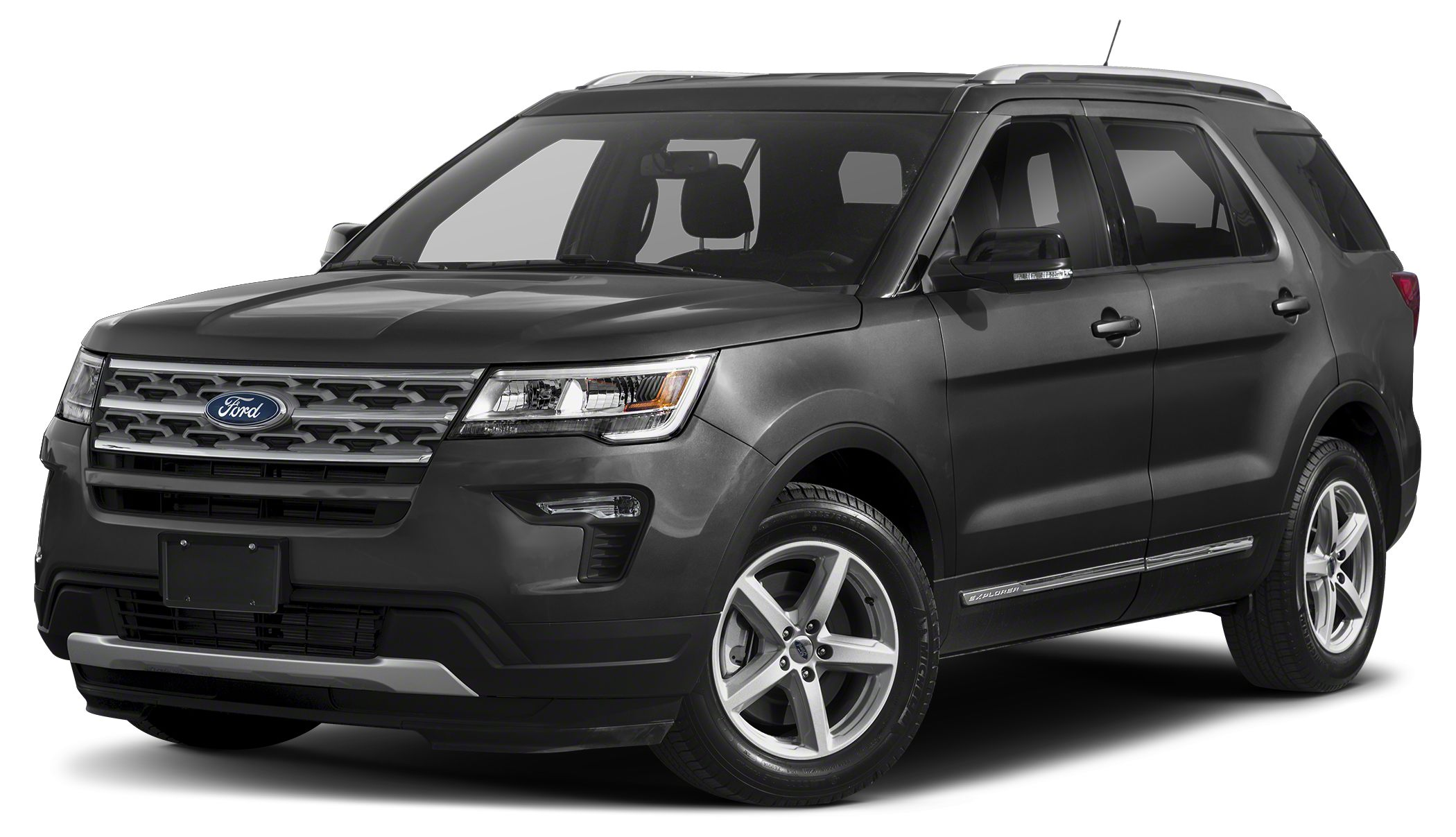 2018 Ford Explorer XLT Miles 0Color Magnetic Stock FT8387 VIN 1FM5K7DH0JGA56310