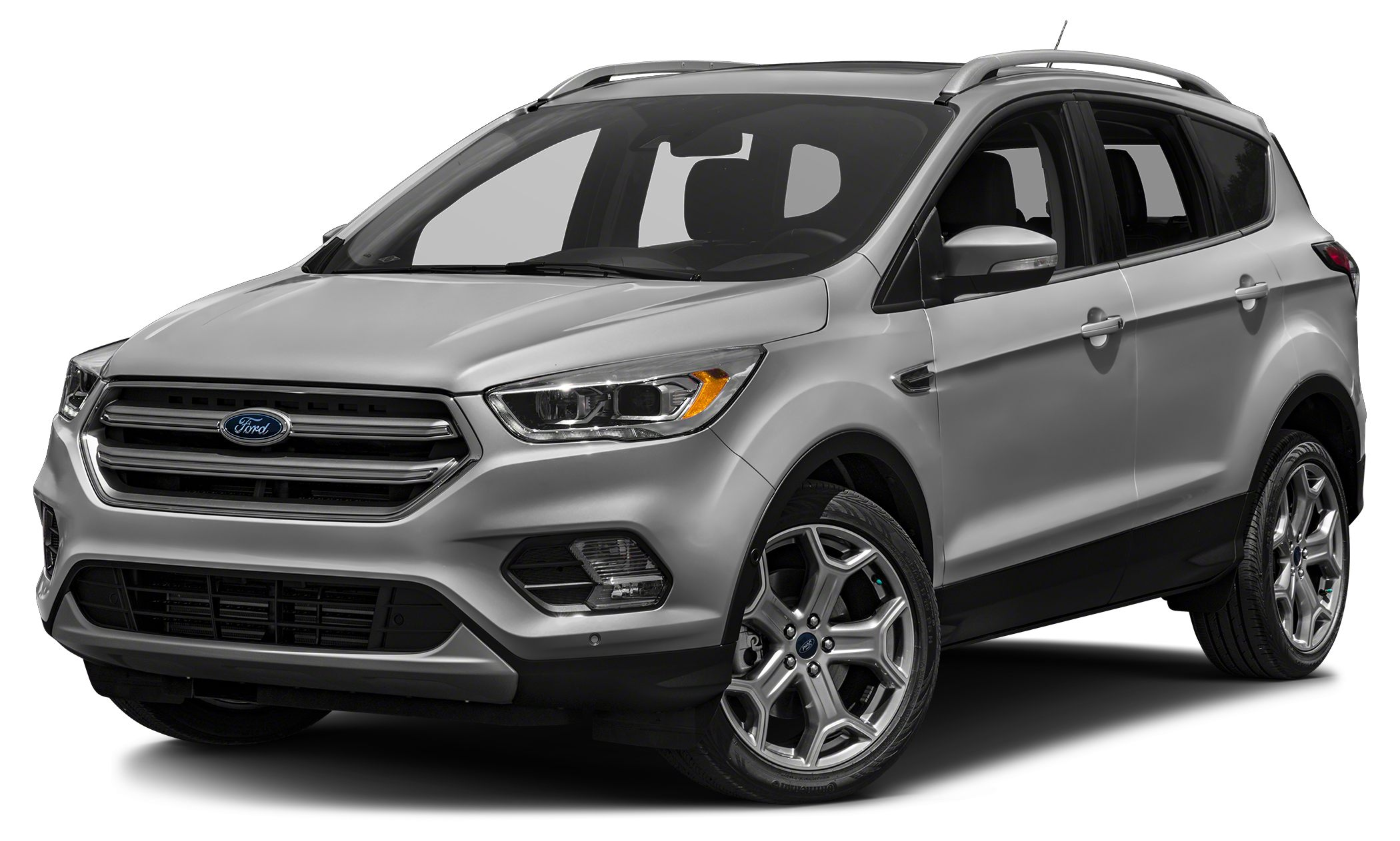 2017 Ford Escape Titanium Color Silver Stock 7162 VIN 1FMCU9JD5HUA07162